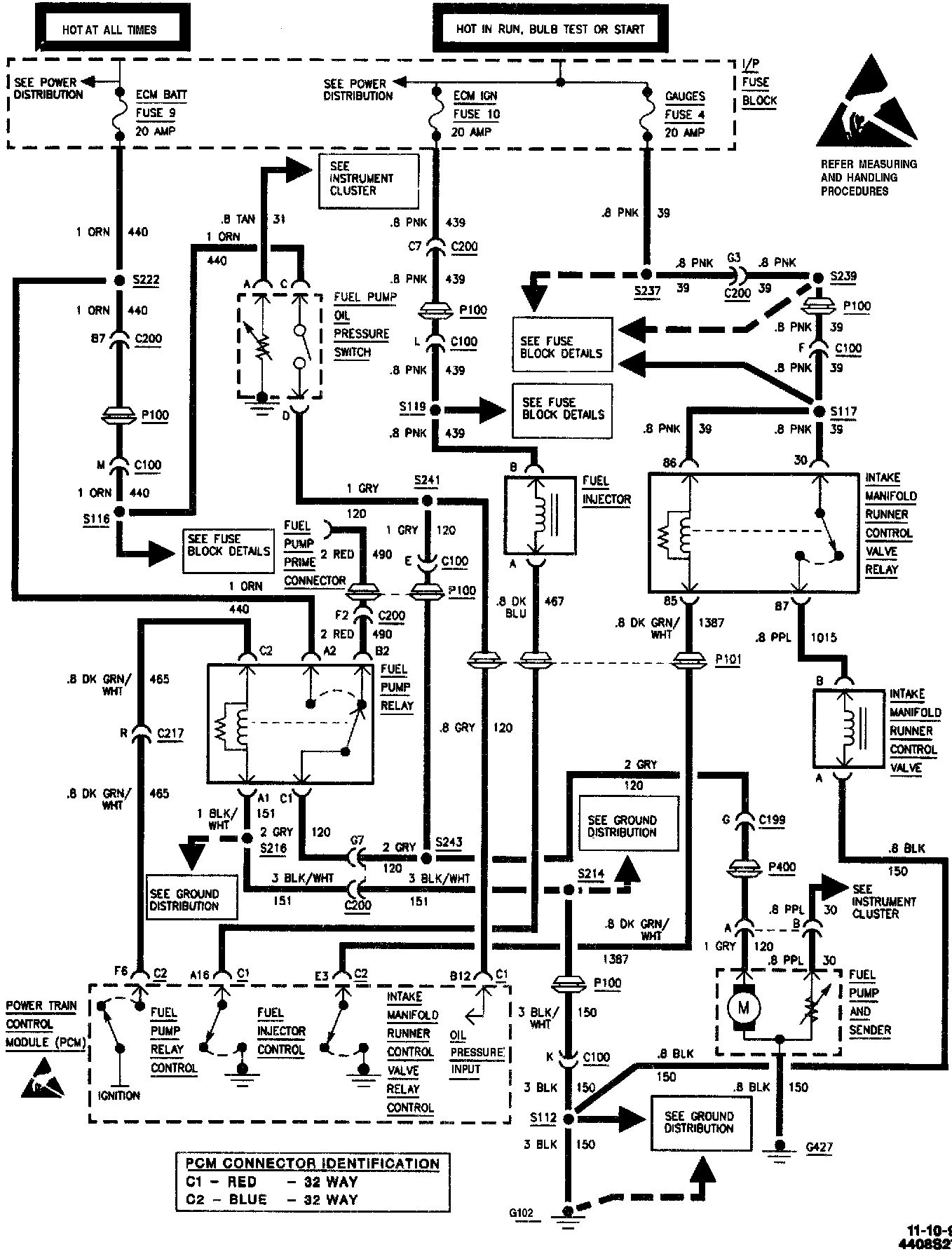 Ignition Wiring Diagram For A