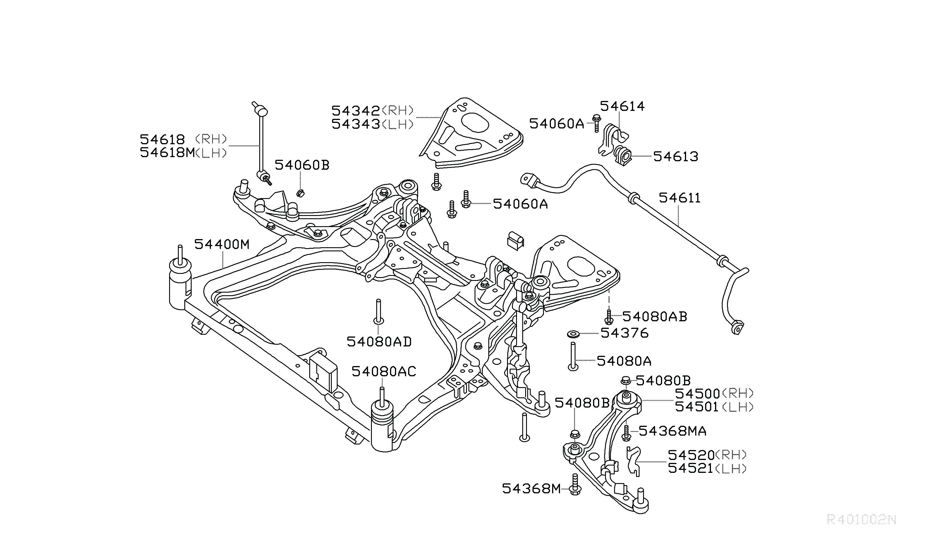 Nissan Versa Exhaust Diagram