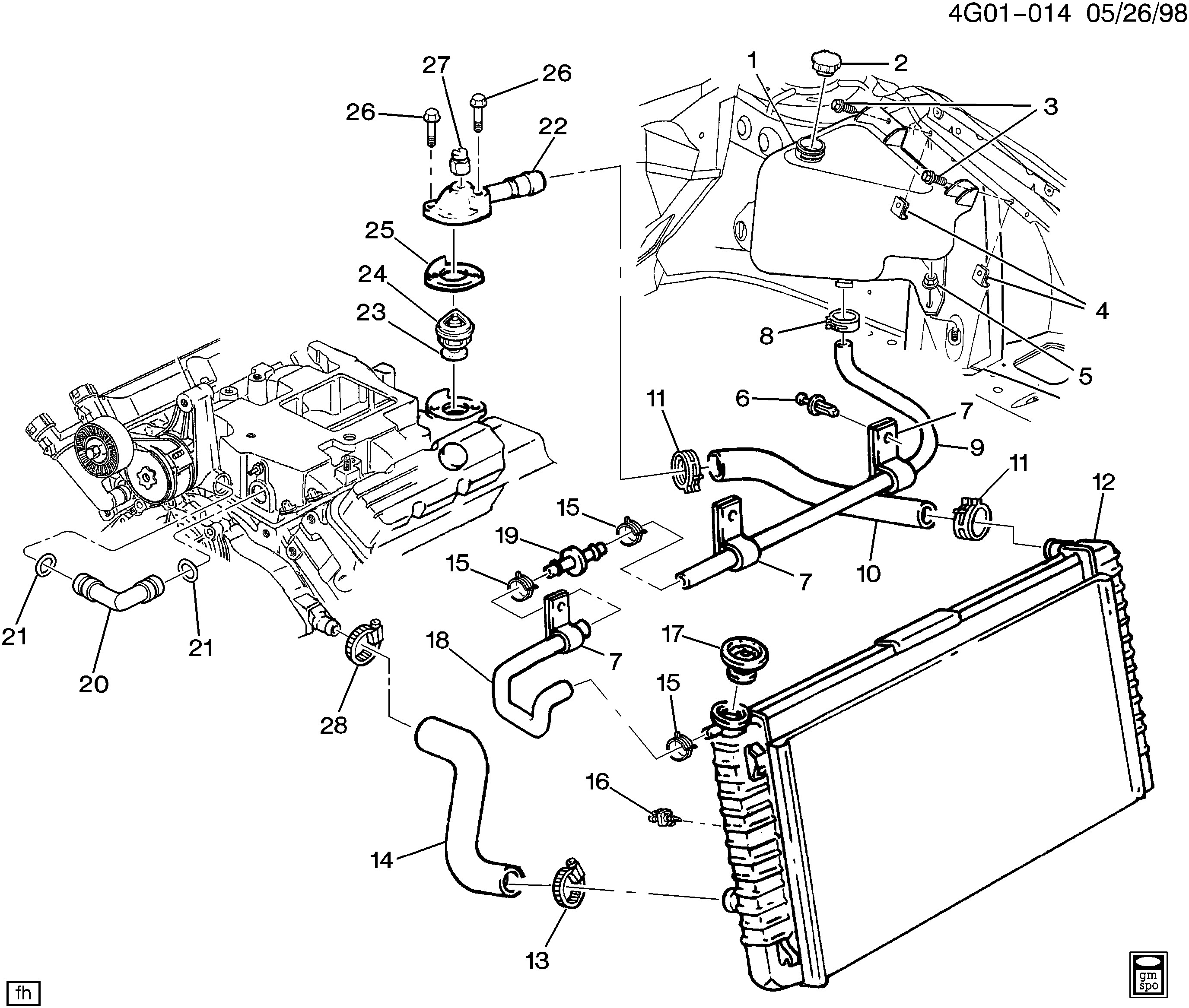 91 buick lesabre engine diagram