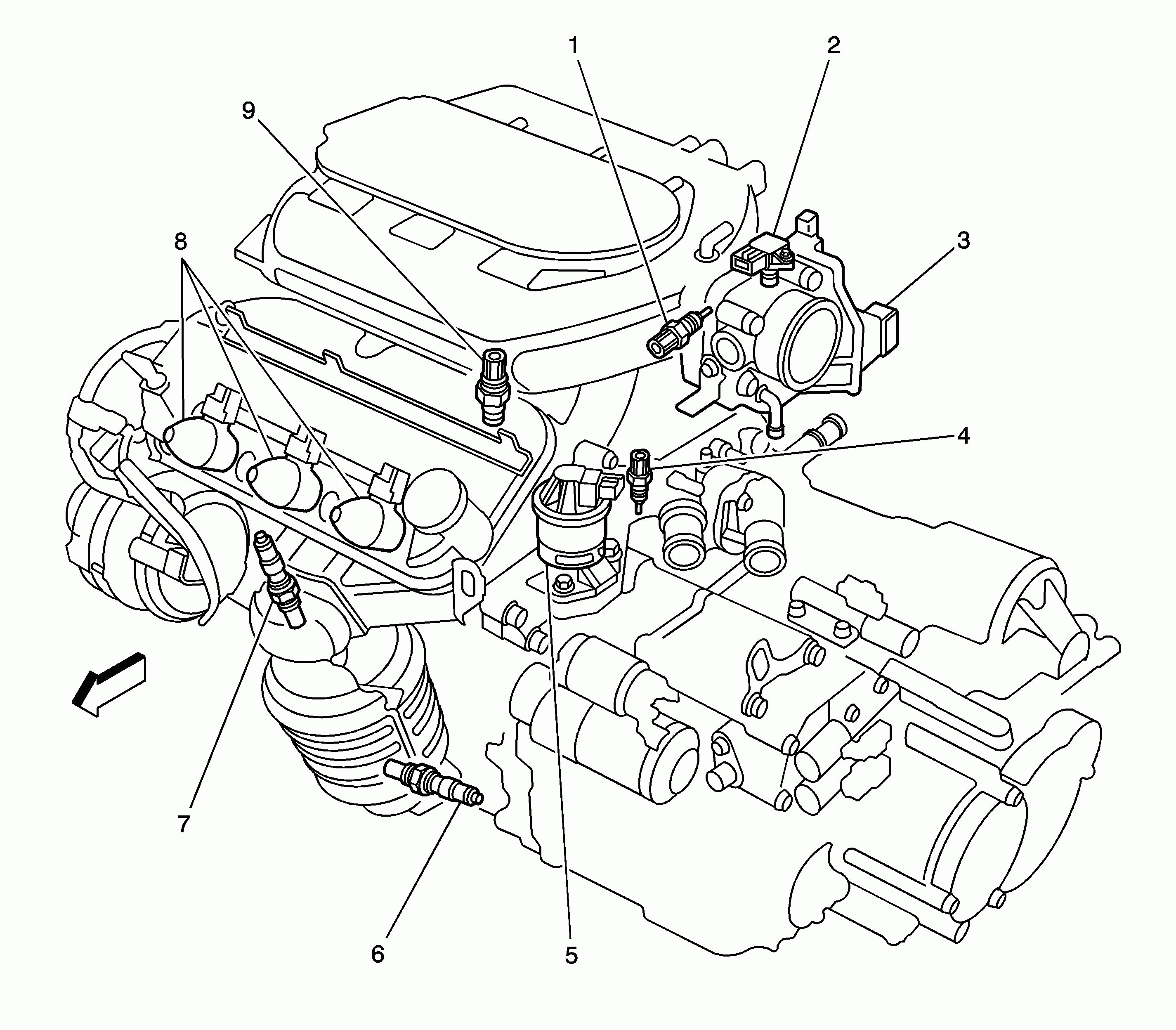 96 lumina engine diagram