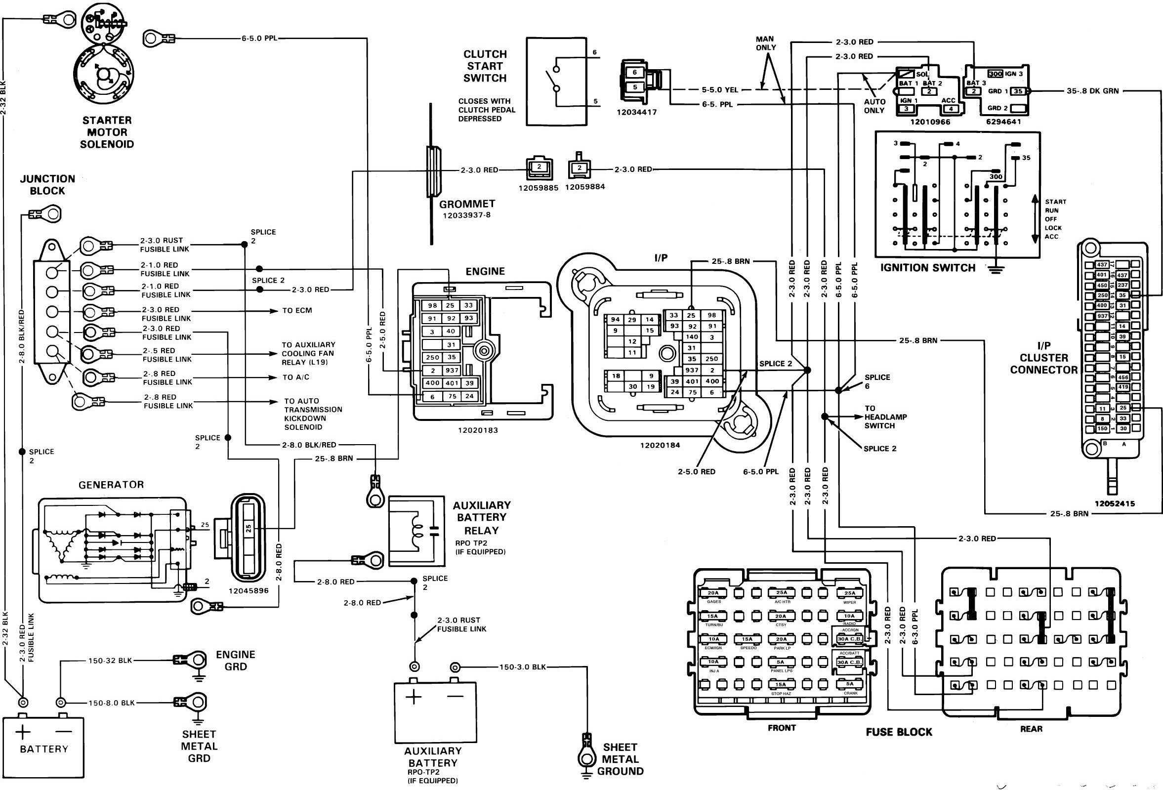 Chevy Silverado Wiring Harness To Fuse Box Diagram