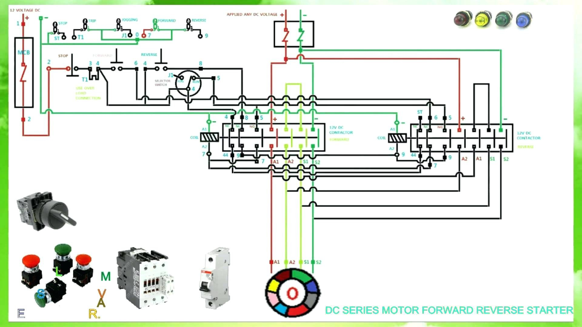Single Phase Reversing Motor Contactor With Wiring Diagrams List Starter Diagram 3 Forward Reverse Control Circuit Motorssite Org Rh