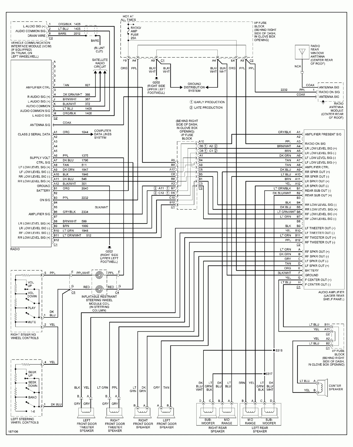 Gm Factory Radio Wire Diagram