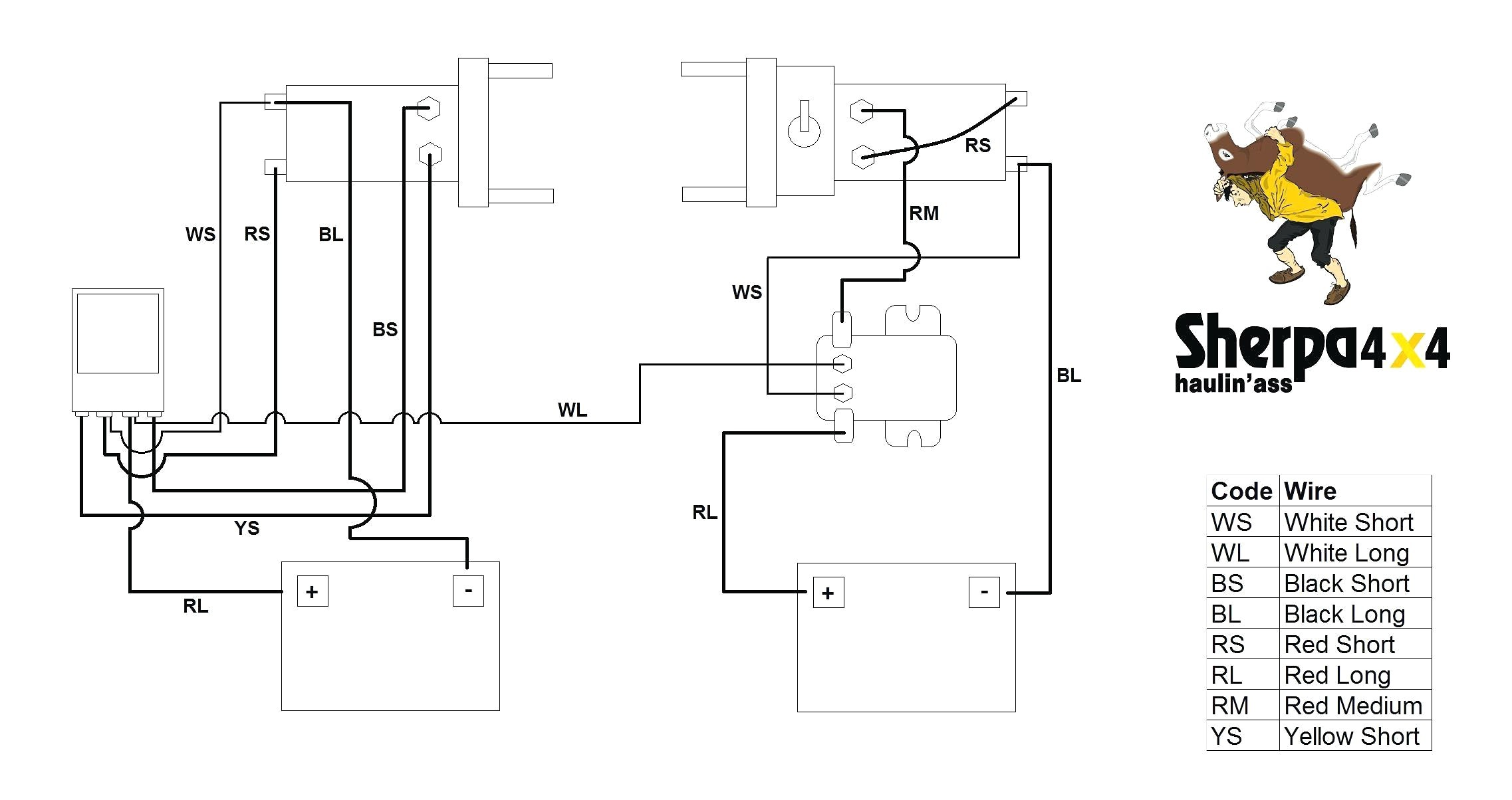Wiring Diagram For Warn Winch