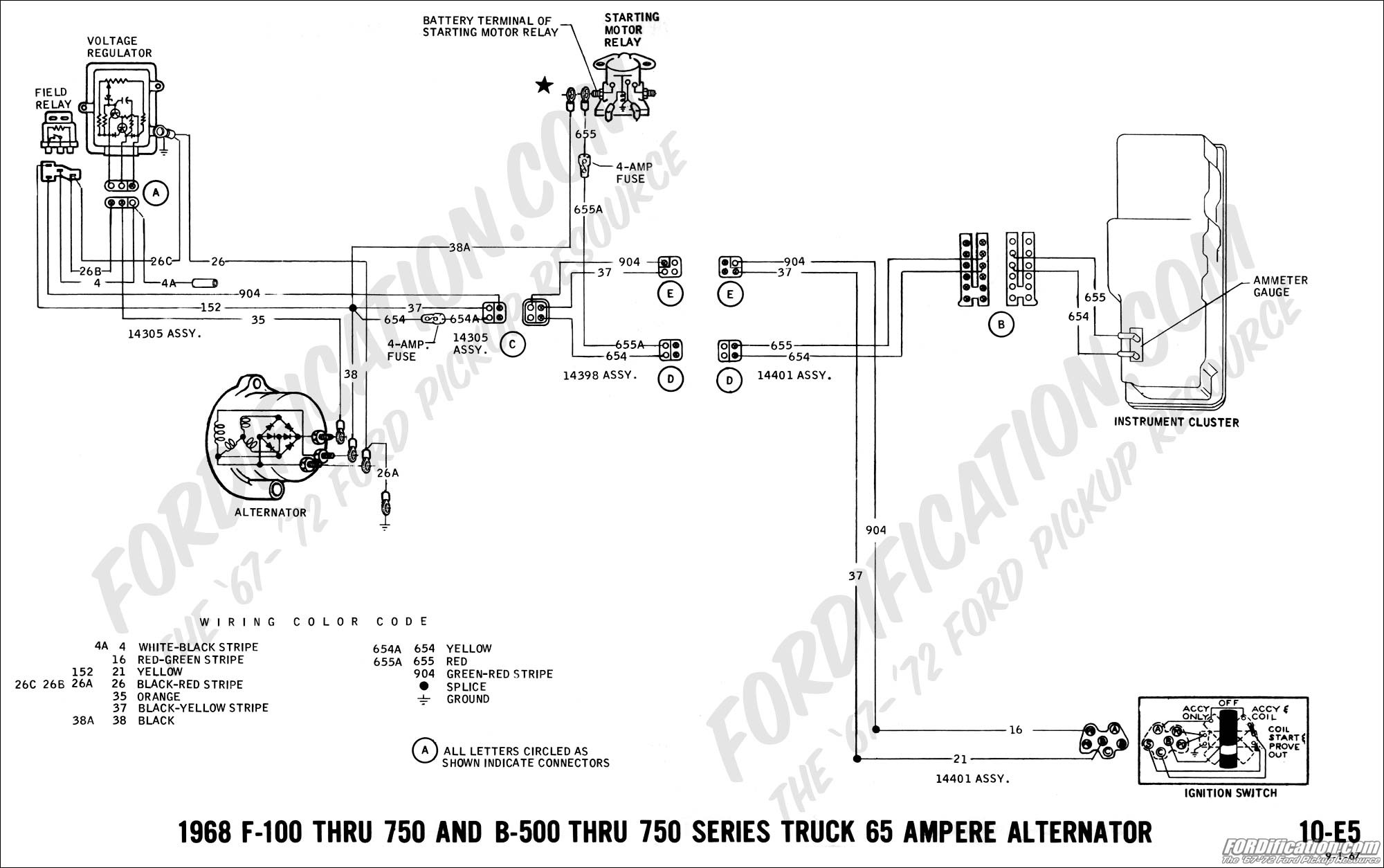 Ford Mustang Alternator Wiring Diagram