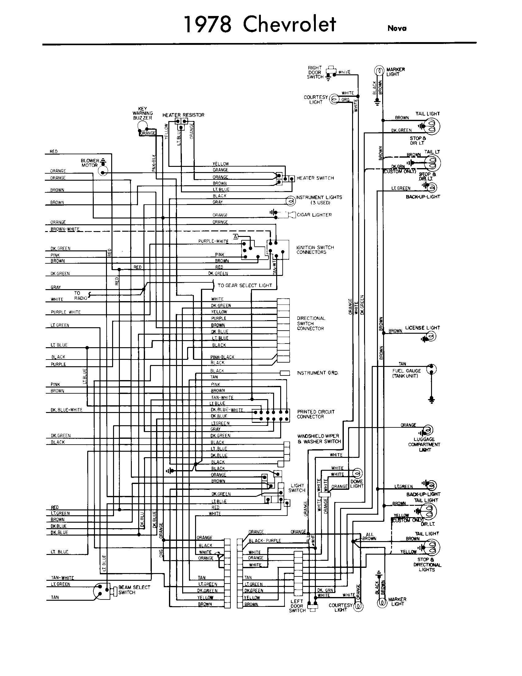 77 Pontiac Firebird Wiring Diagram