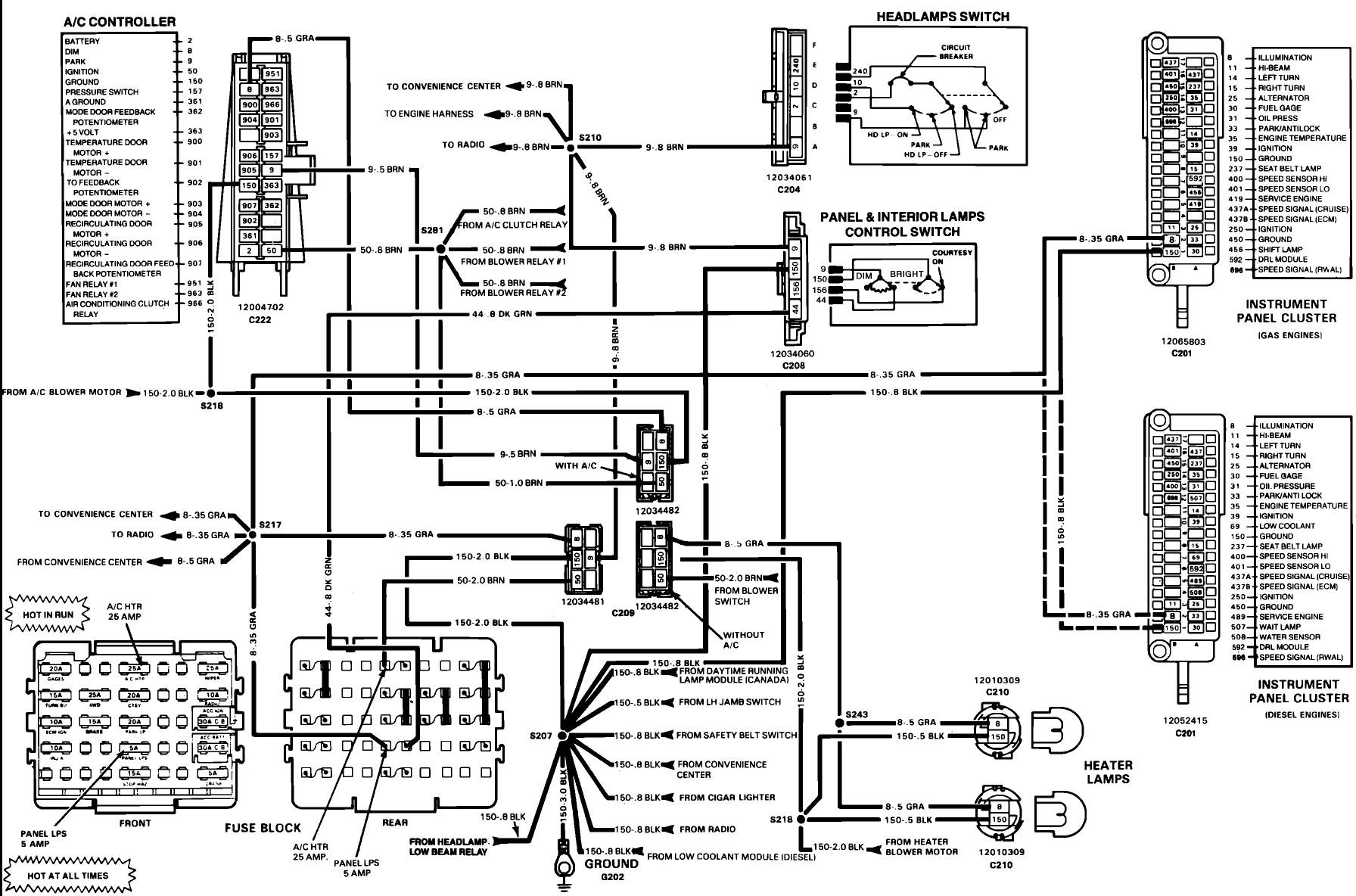 Download Schema Chevrolet K10 Wiring Diagram Full