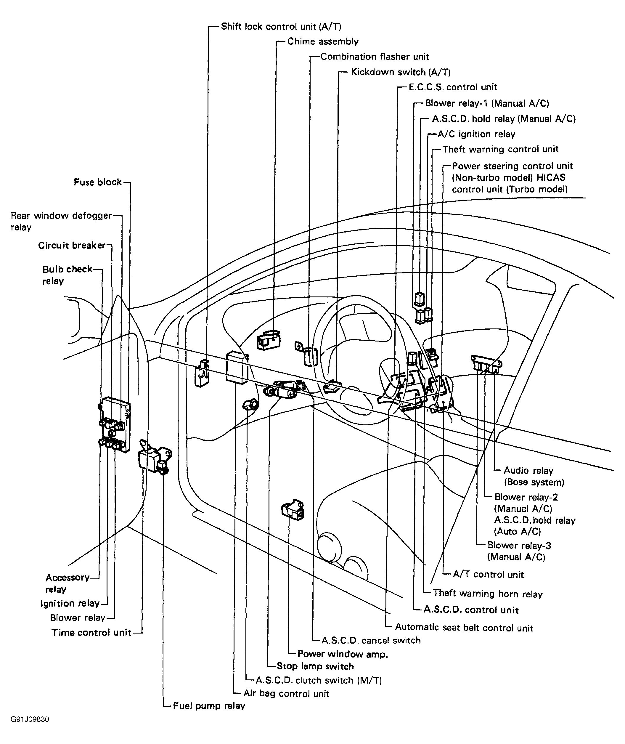 Relay Nissan Hardbody Wiring Diagram