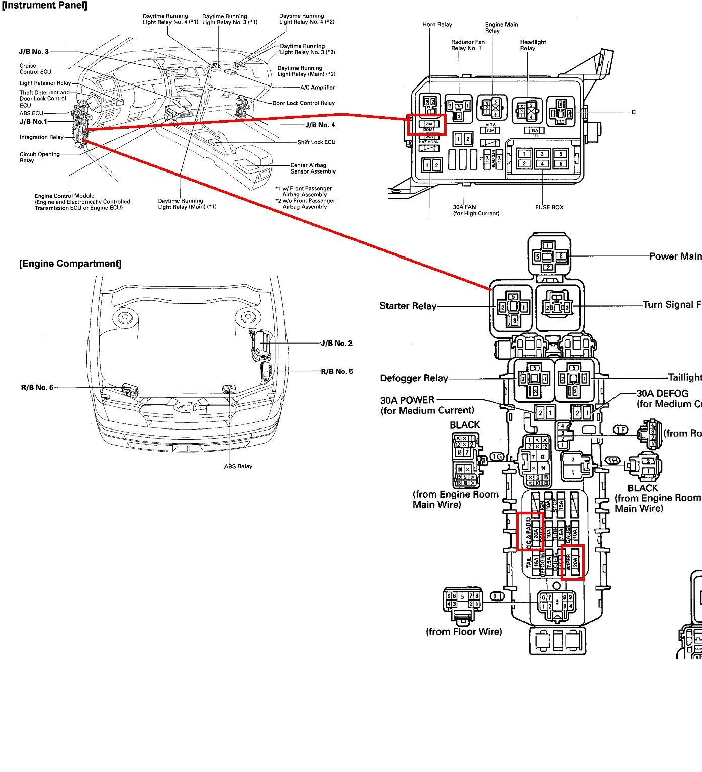 Free Toyota Wiring Diagram - Technical Diagrams on