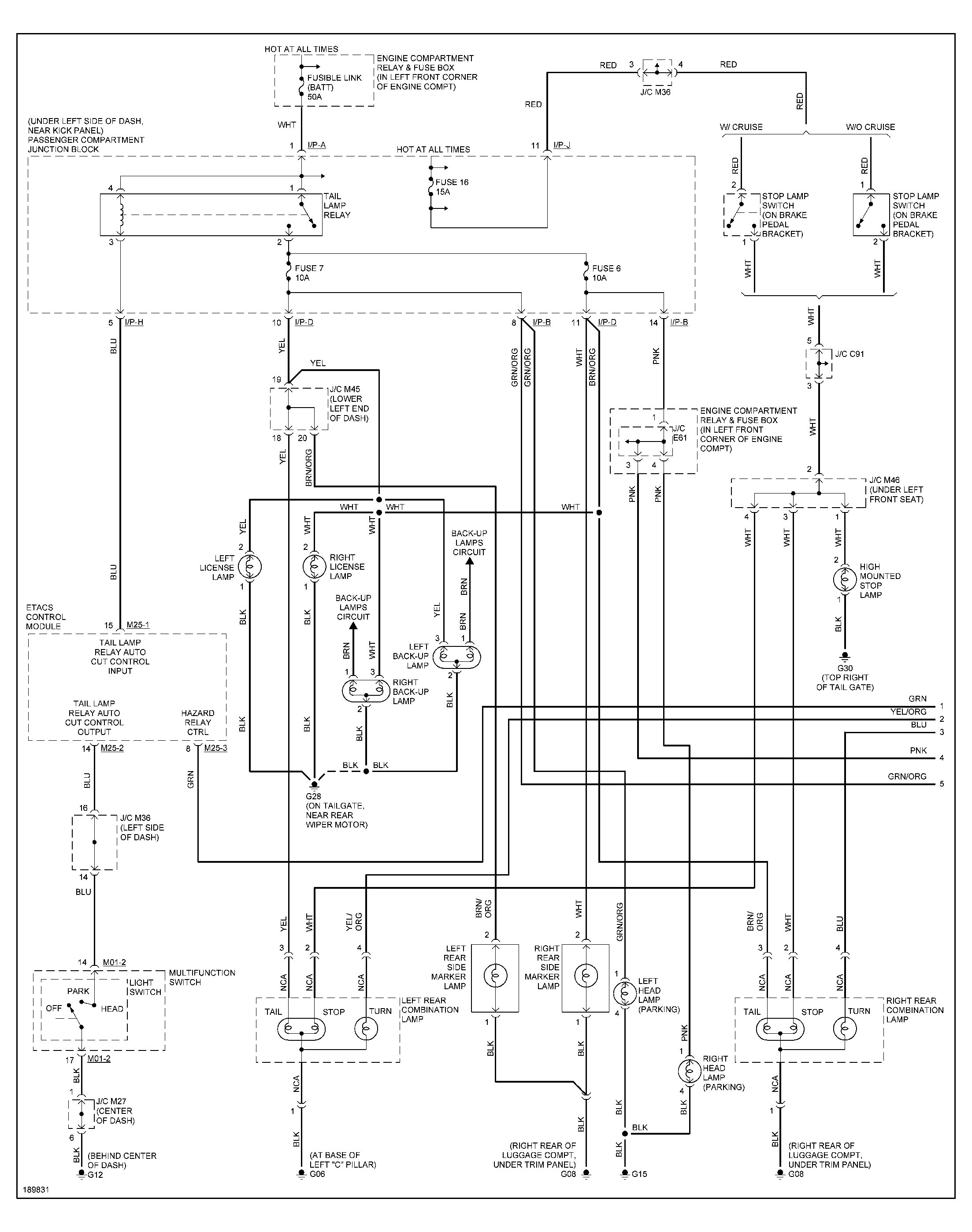 2005 Hyundai Elantra Parts Schematic
