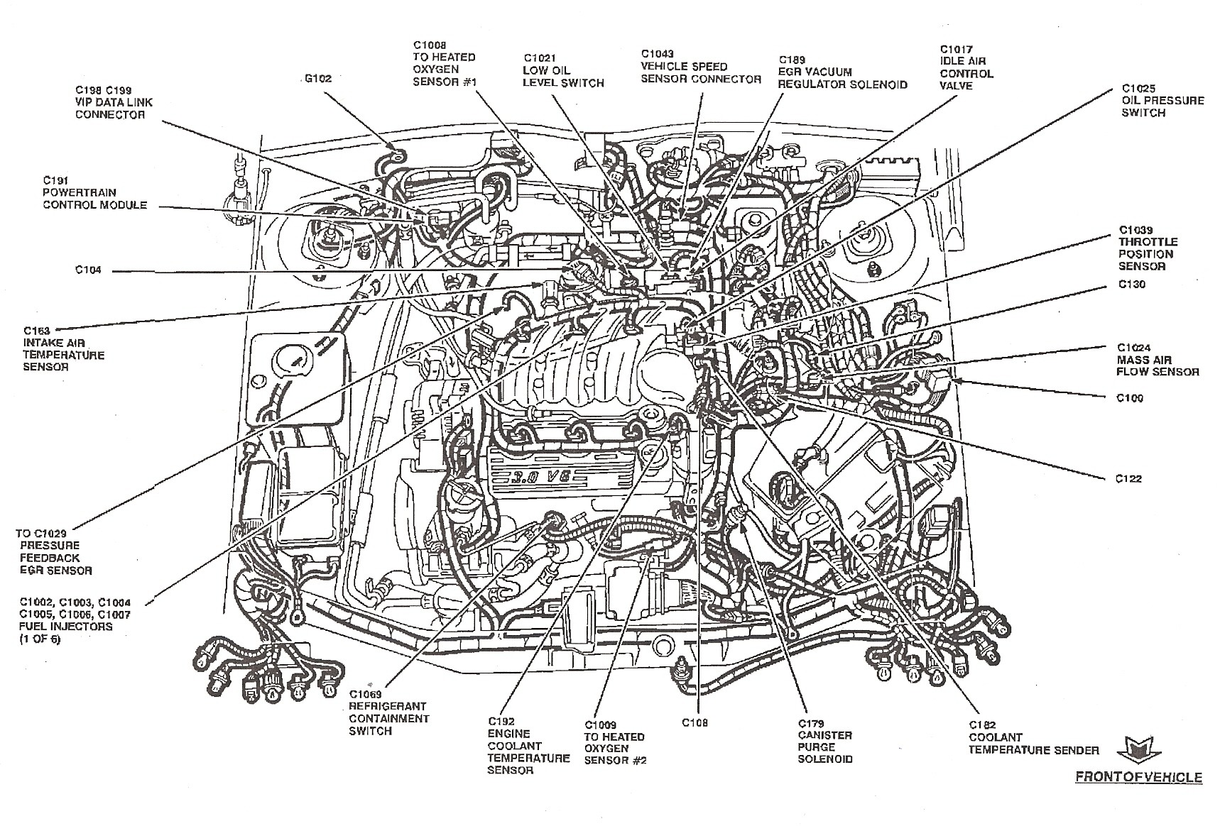 Ford Engine Diagram