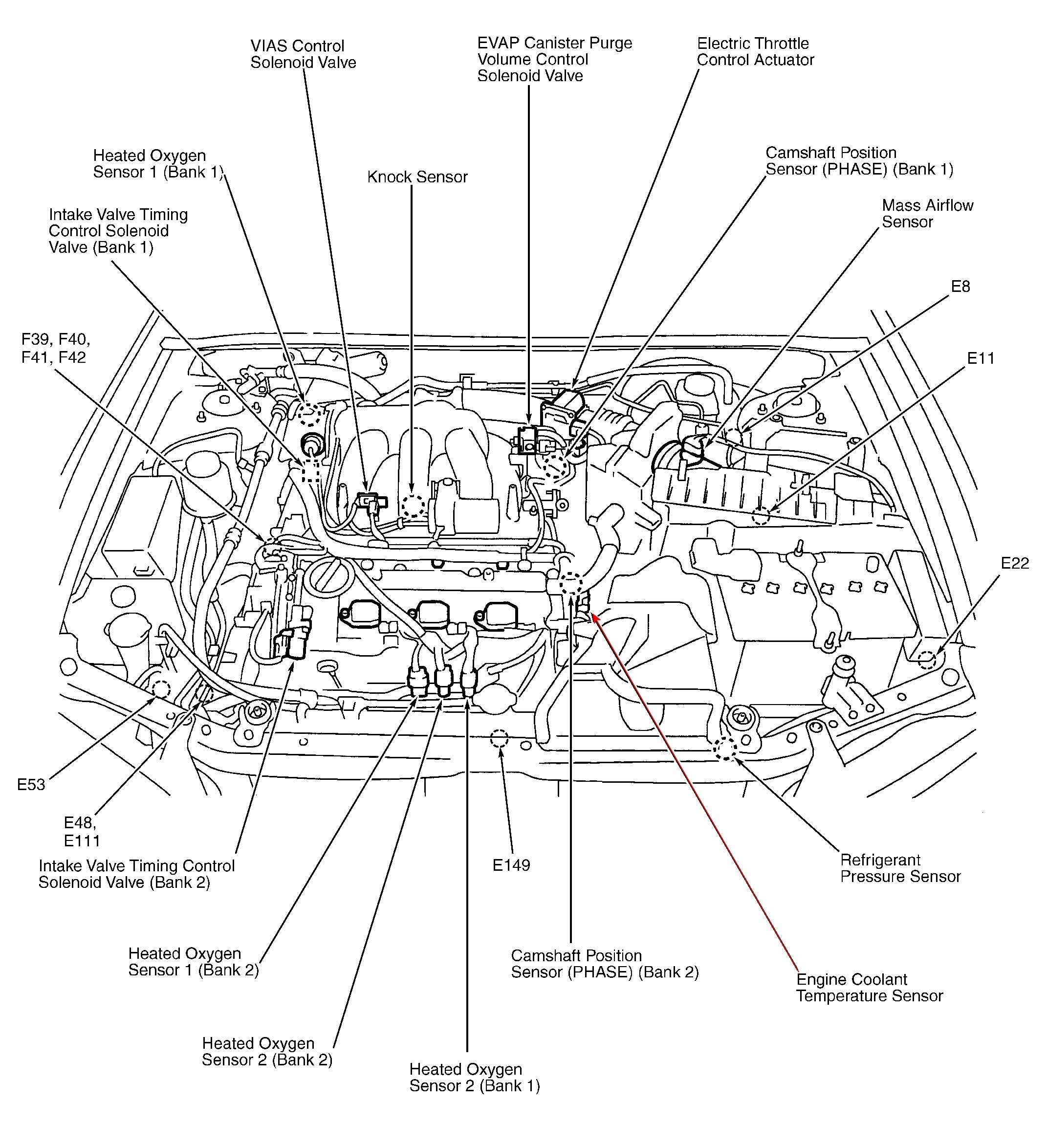Taurus Engine Diagram