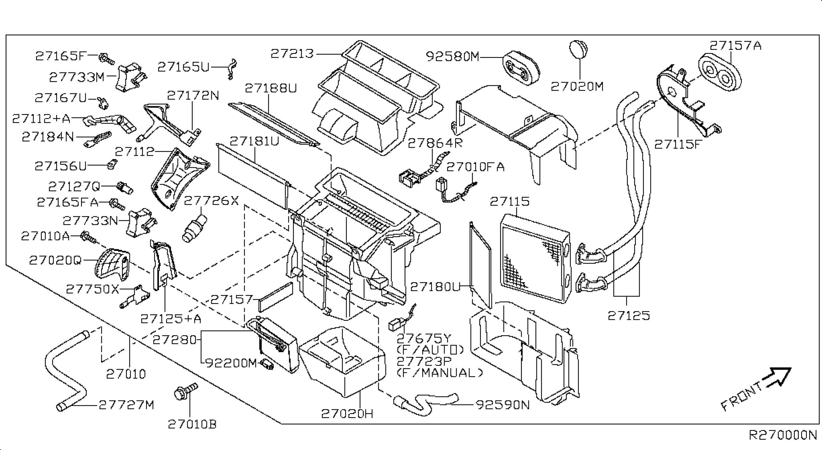 Nissan Sentra Parts Diagram