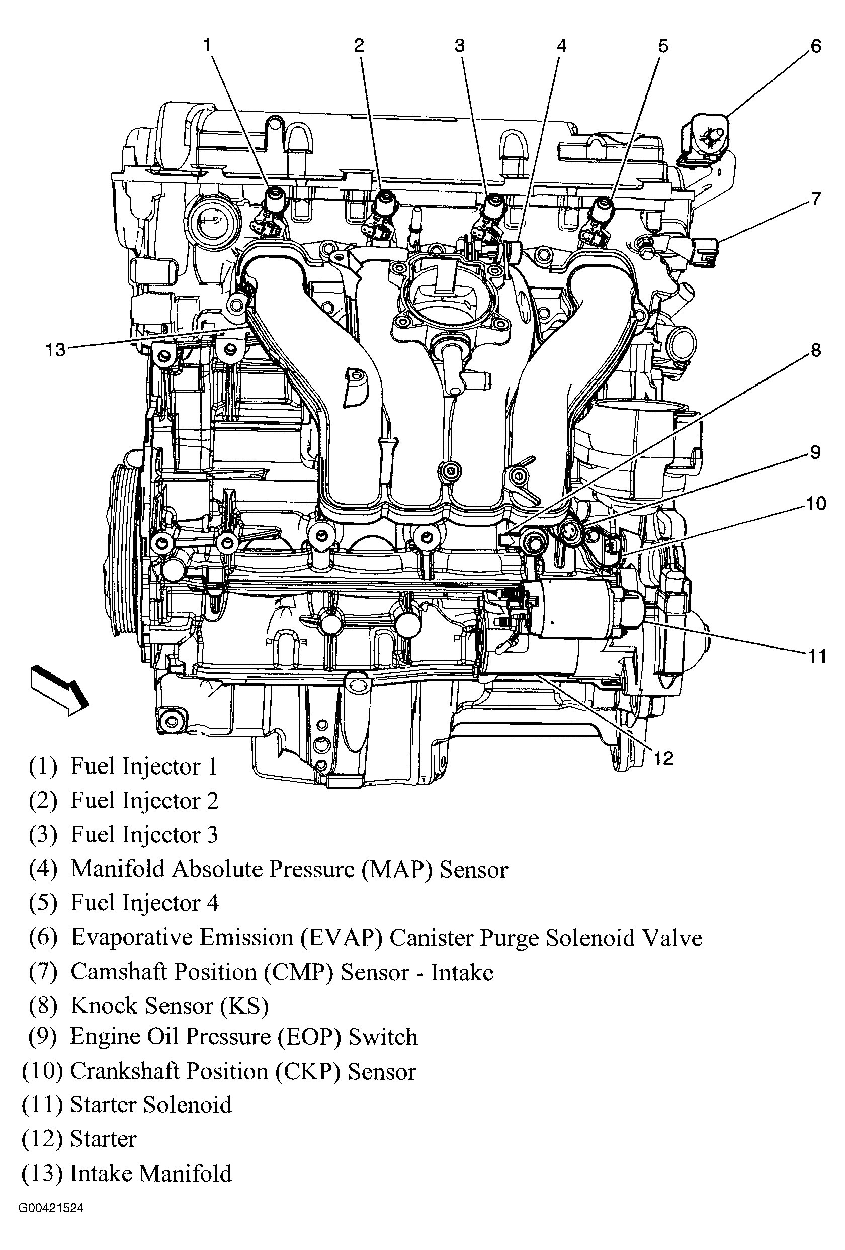 Chevy Aveo Engine Diagram