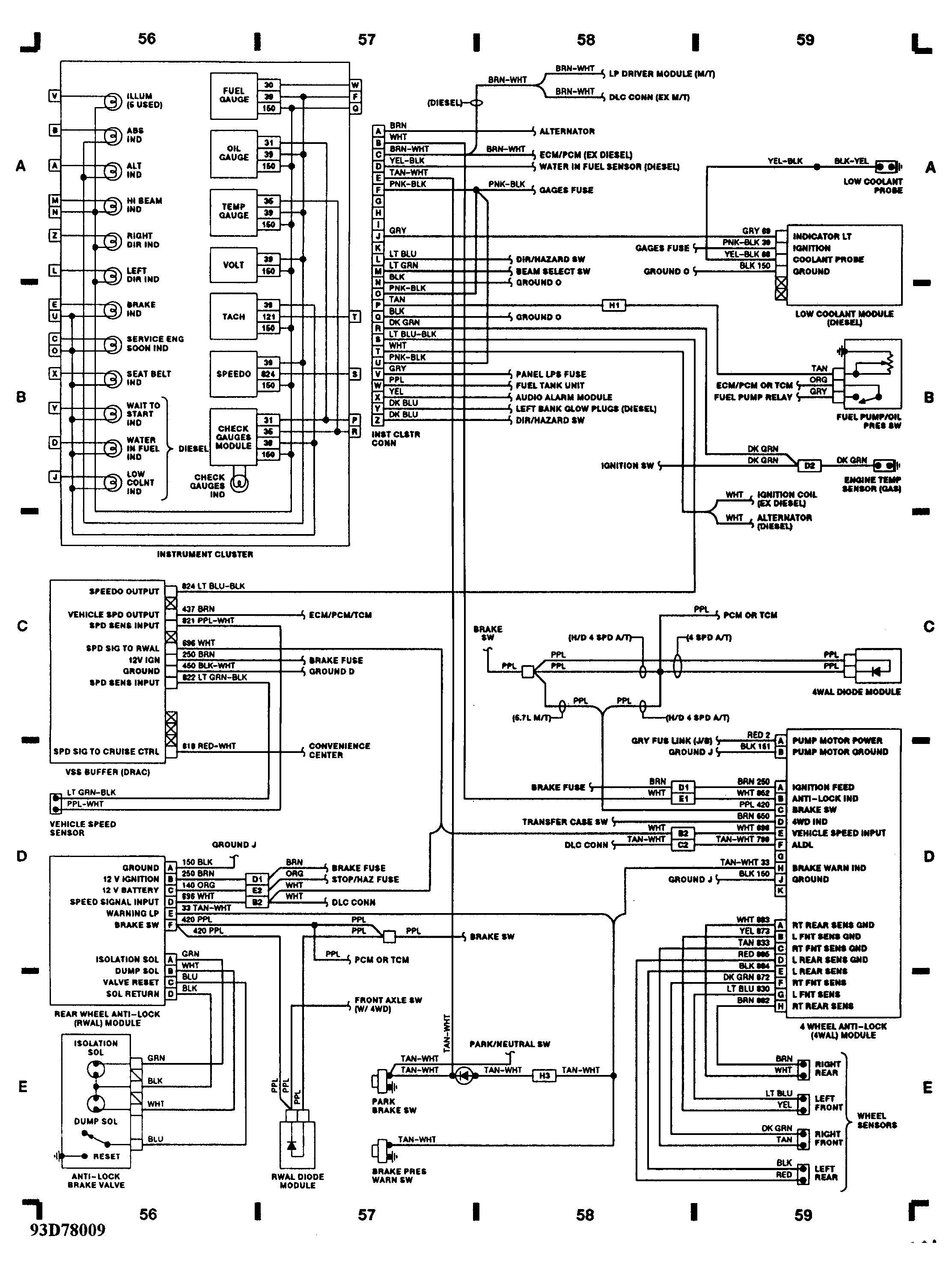 1993 chevy lumina cooling system wiring diagram all wiring diagram 1993 Chevy 1500 Heating Diagram