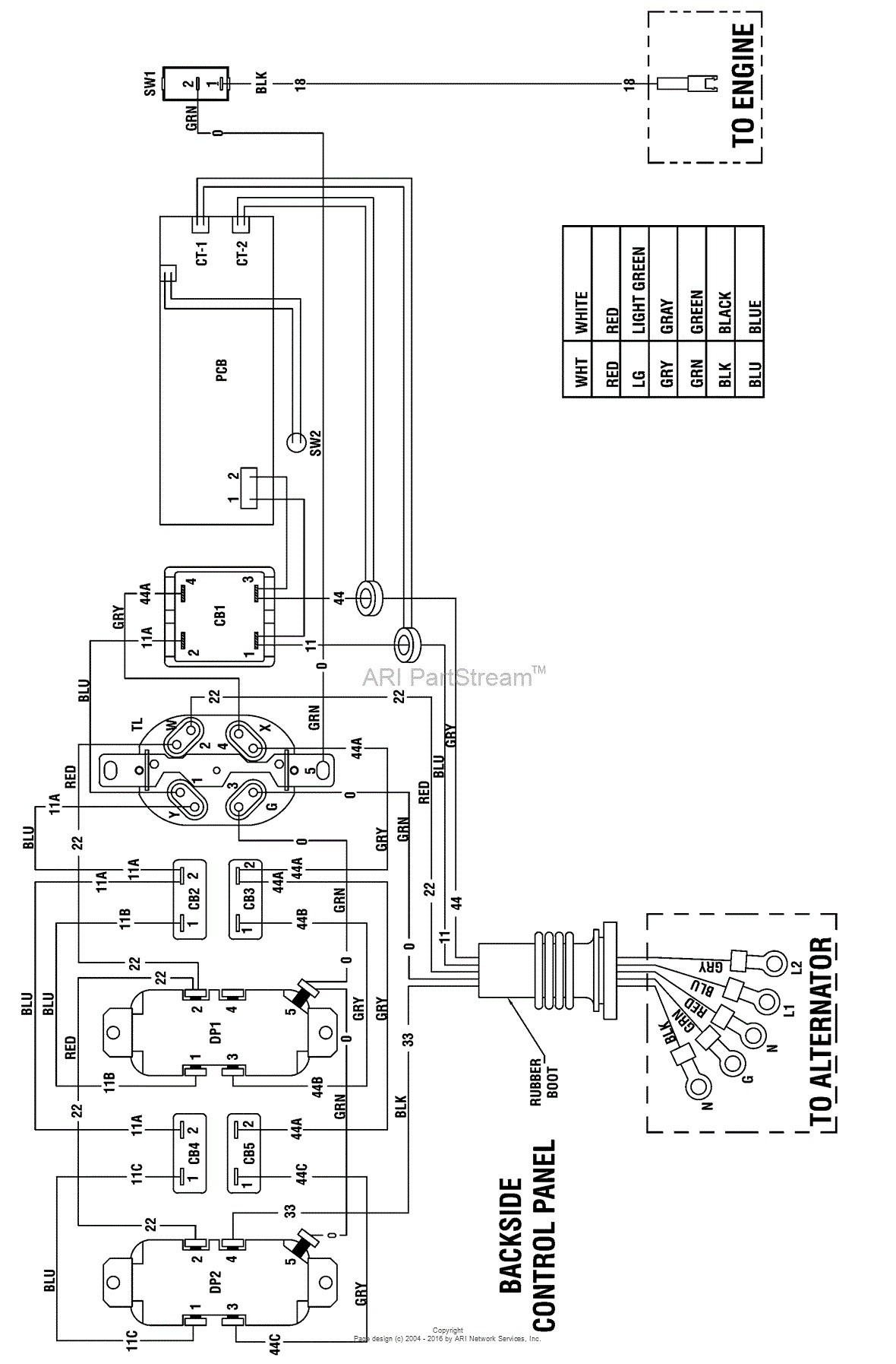 V Twin Briggs Engine Schematics