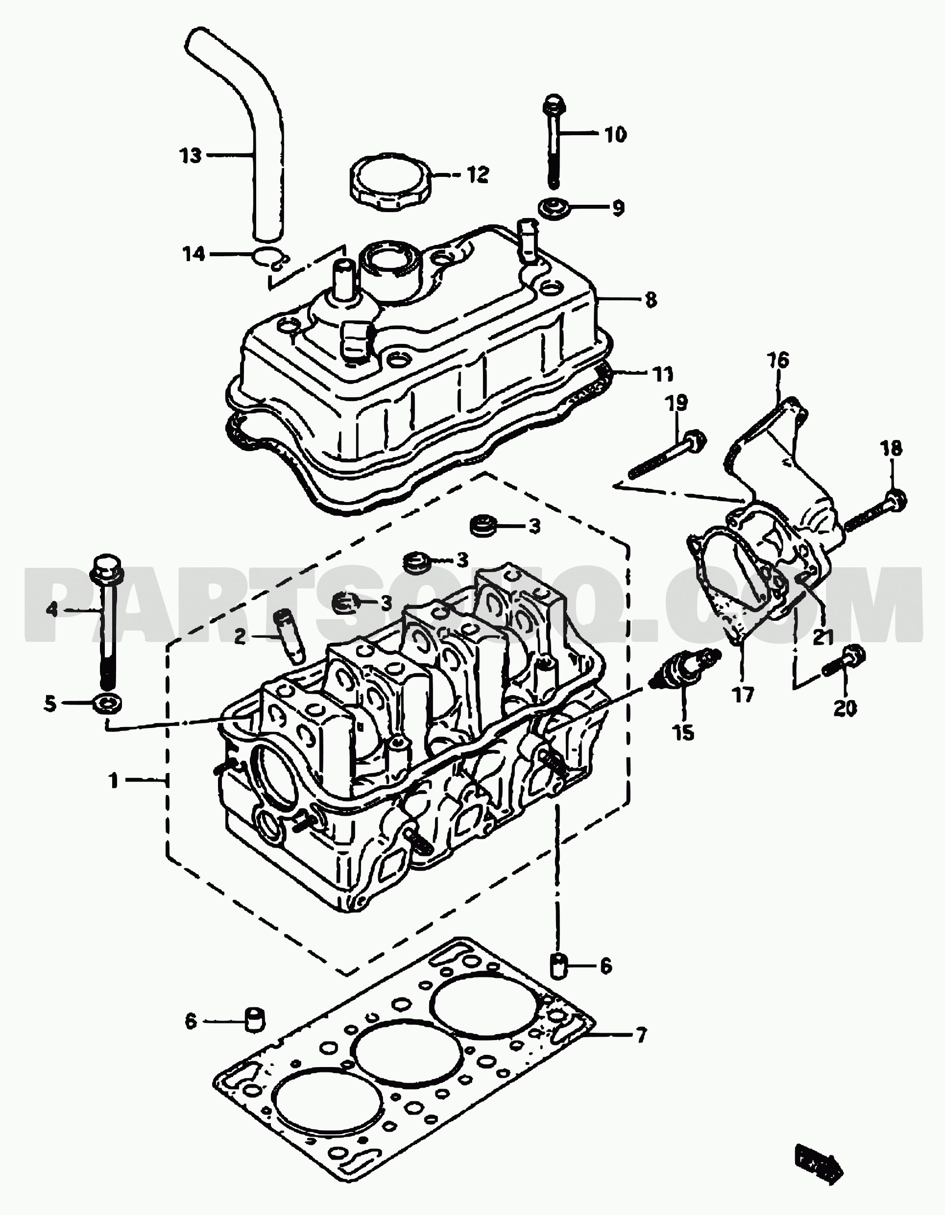 Engine Transmission Diagram