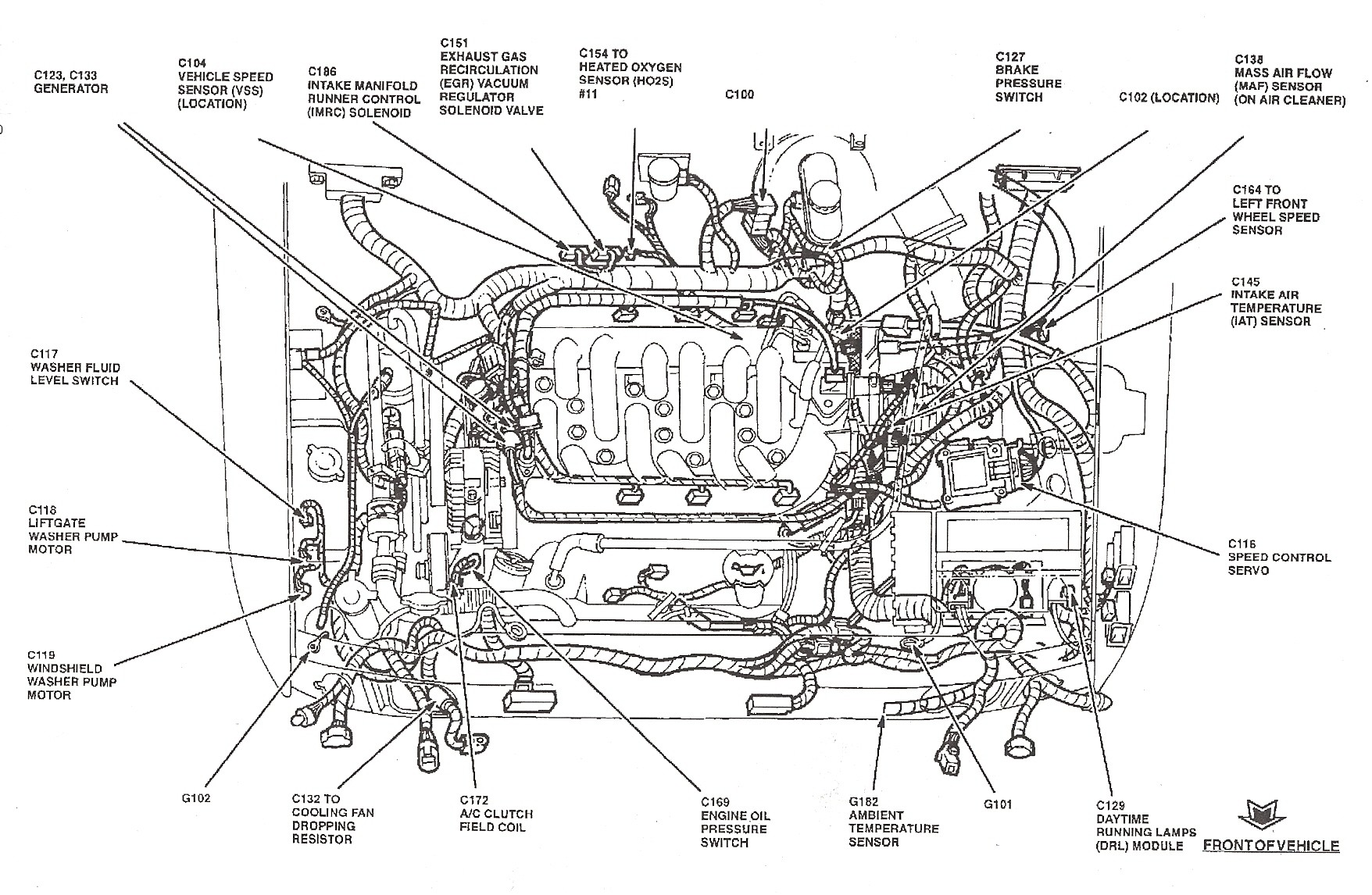 2007 Ford Focus Fuel System Diagram  2005 Ford Focus Hard