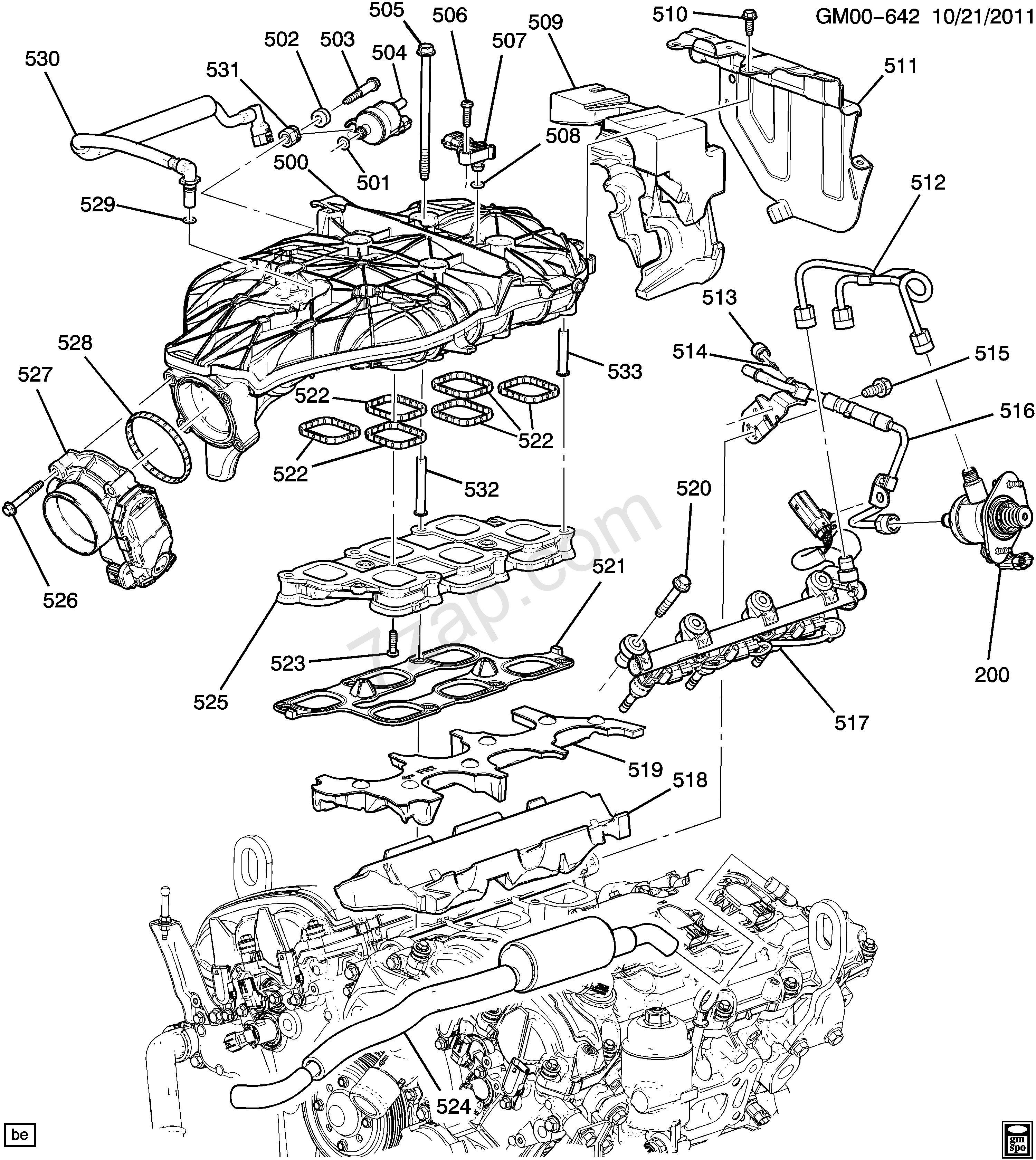 Chevrolet 3 6 V6 Engine Diagram
