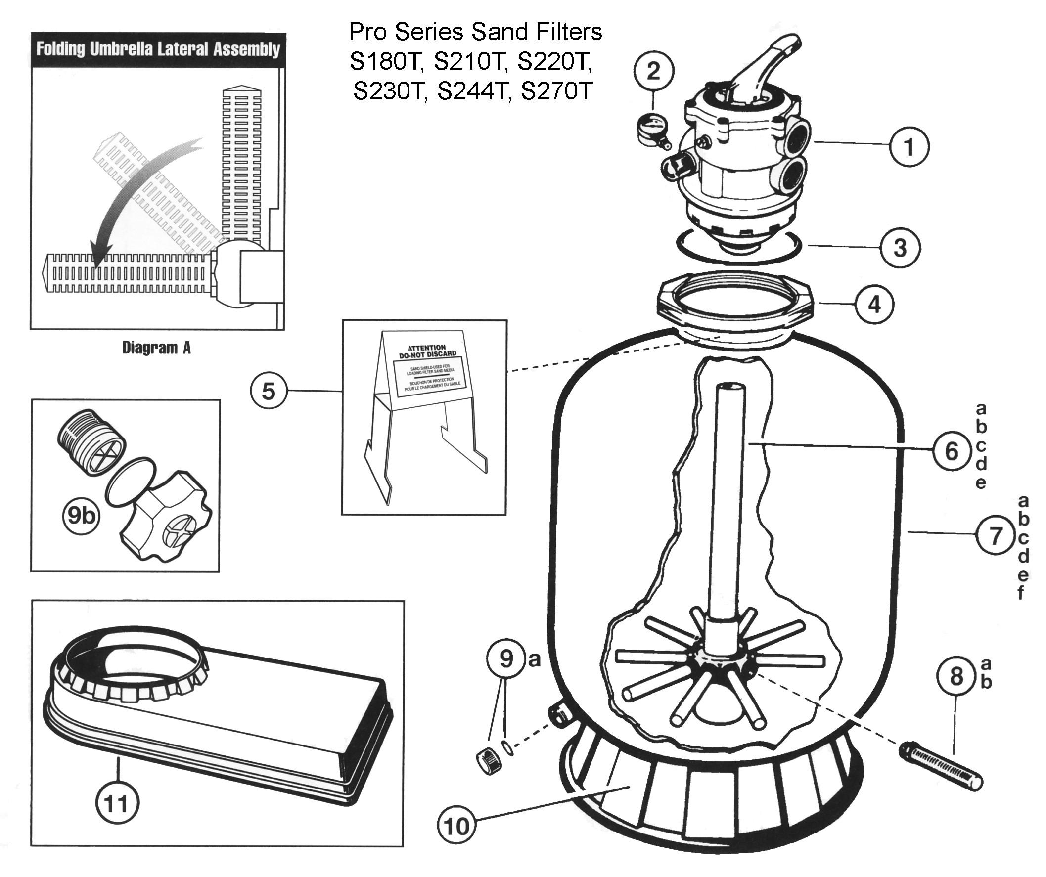 Hayward Navigator Parts Diagram