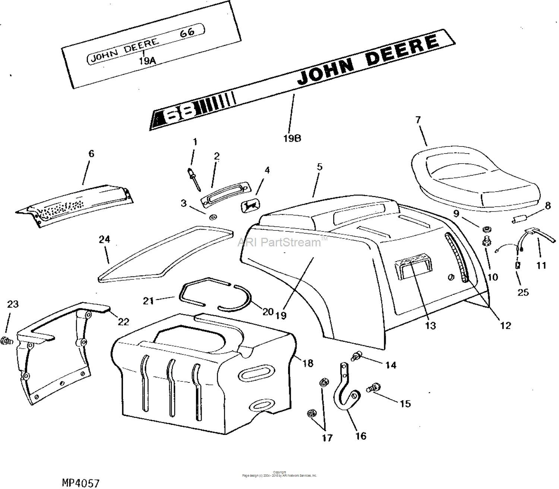 John Deere Model 68 Wiring Diagram