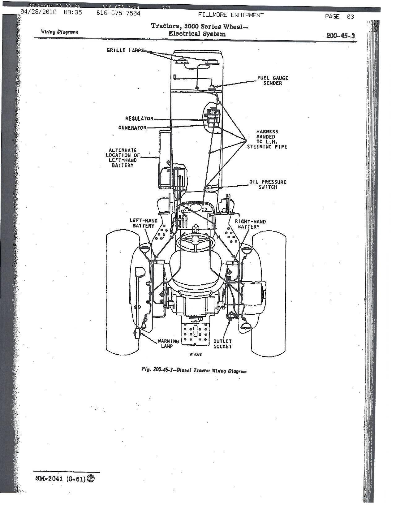 4020 john deere ignition wiring diy enthusiasts wiring diagrams u2022 rh okdrywall co John Deere 4020 Electrical System 4020 12 Volt Wiring Diagram