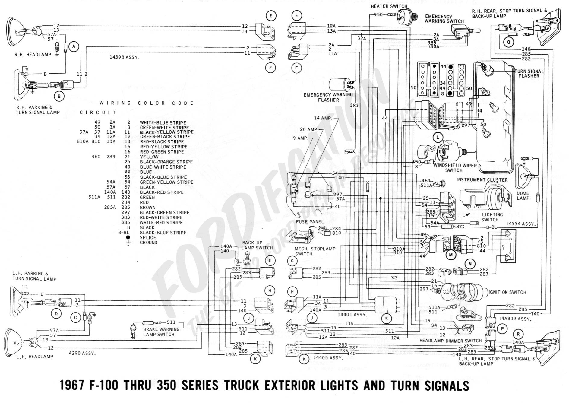 86 F250 Tail Light Wiring Diagram