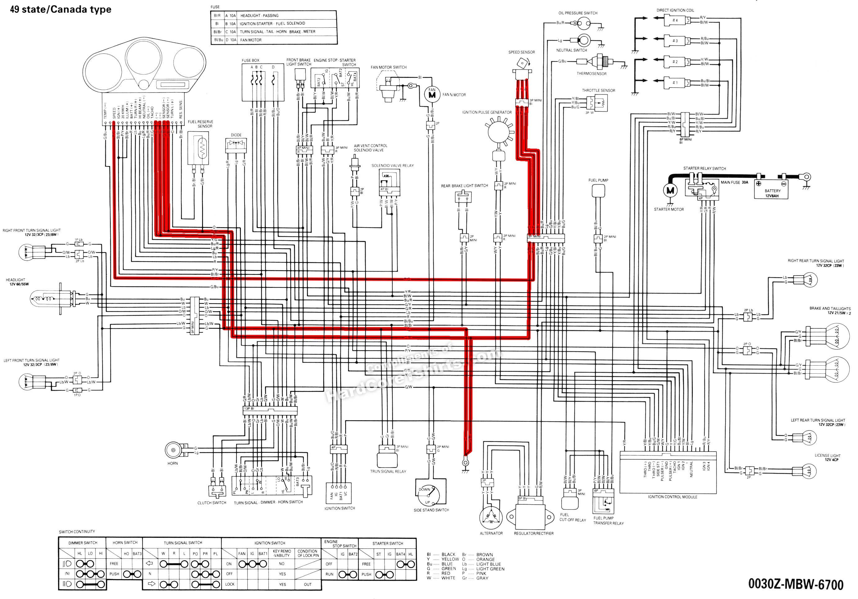 282b53 Honda Shadow Vlx 600 Wiring Diagram