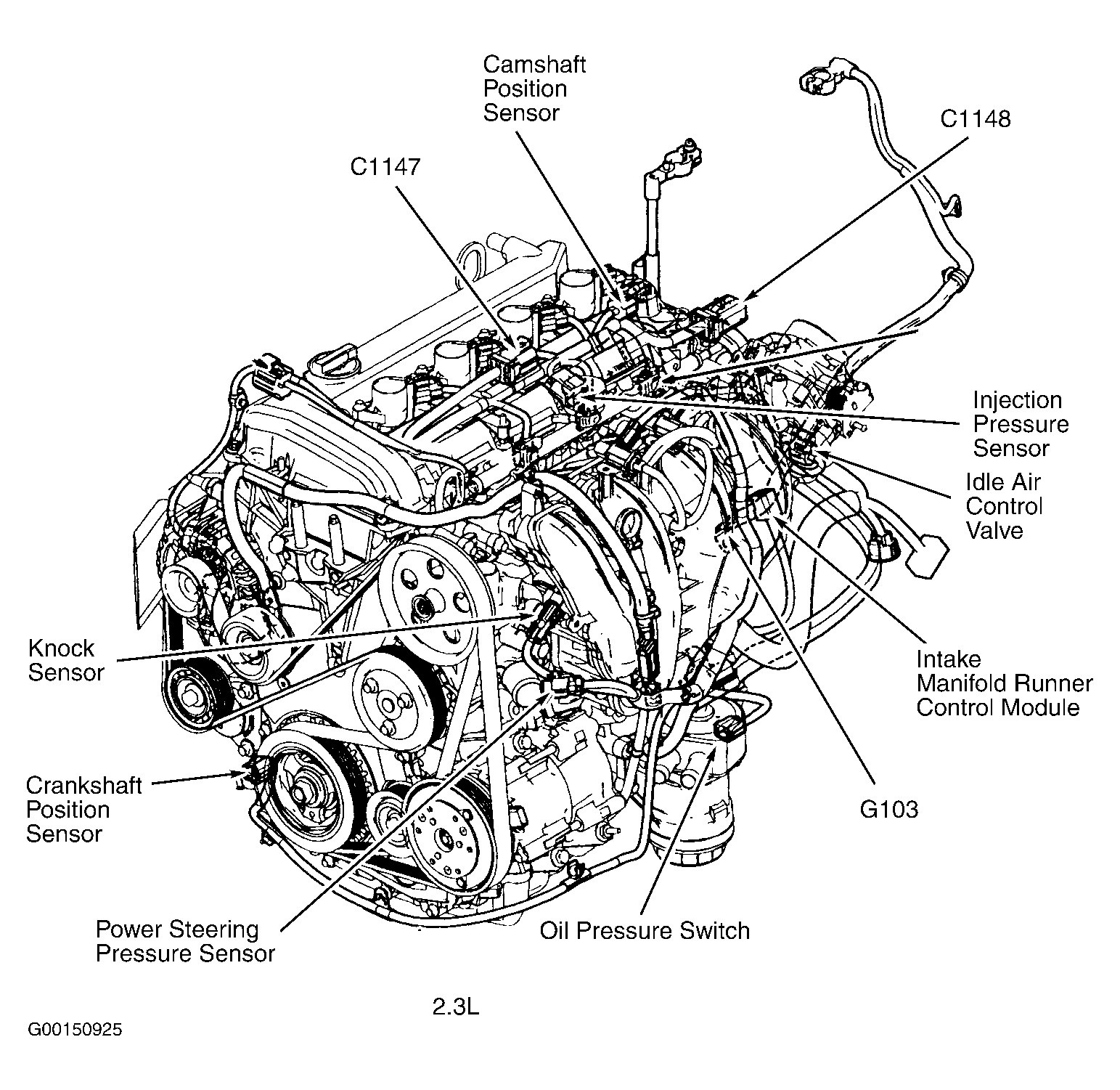 Ford Focus Engine Hose Diagram