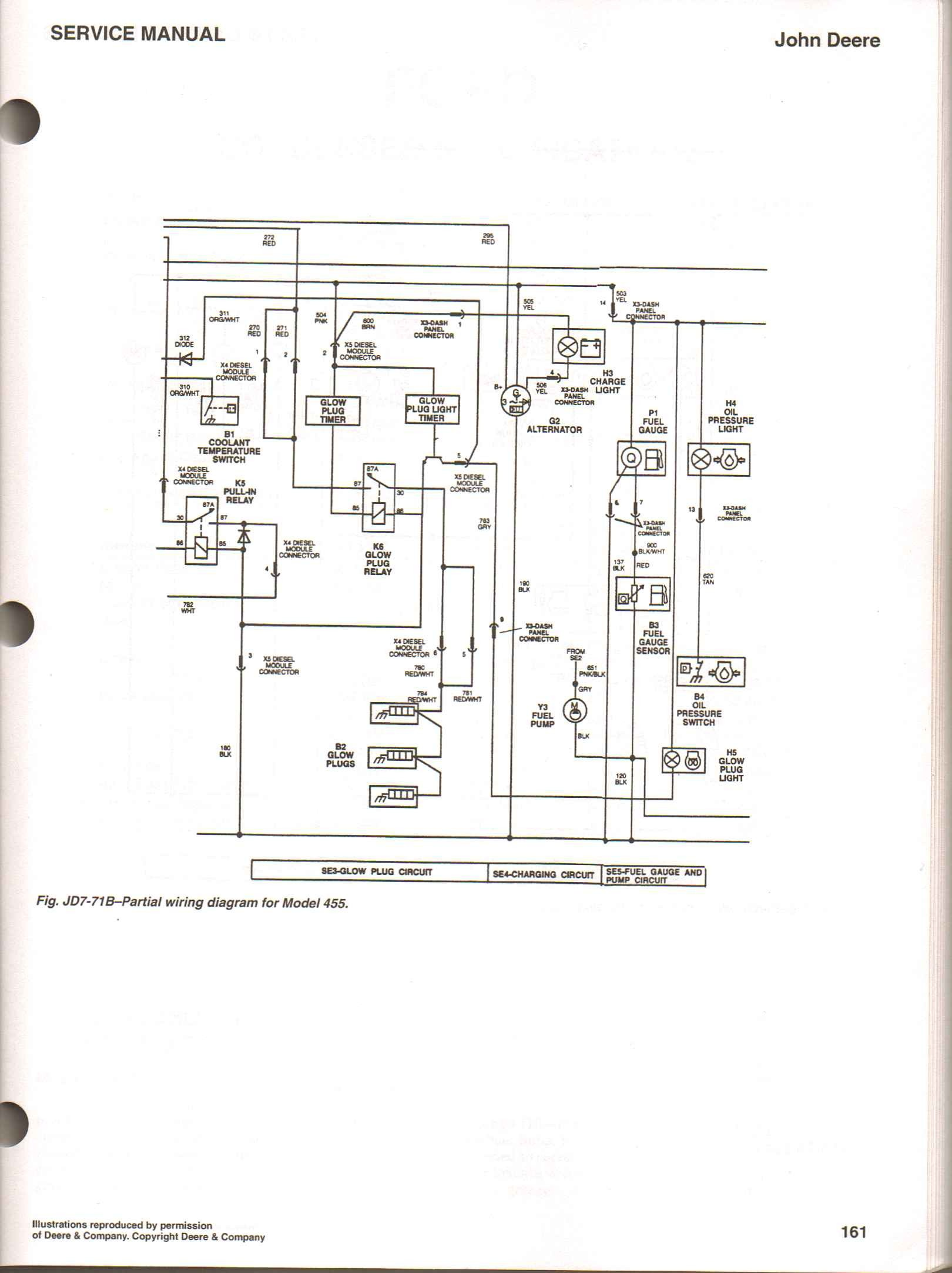 John Deere L110 Electrical Schematic