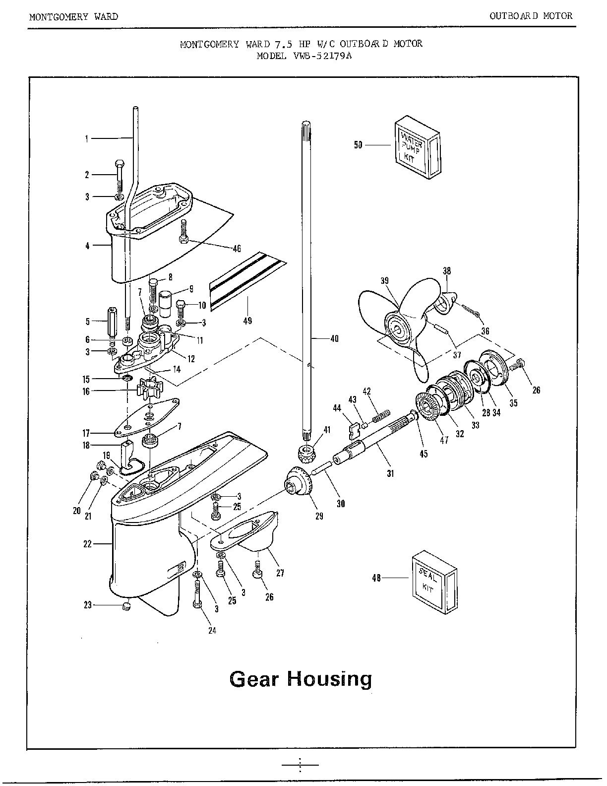 Mariner Outboard Motor Controls Wiring Diagram