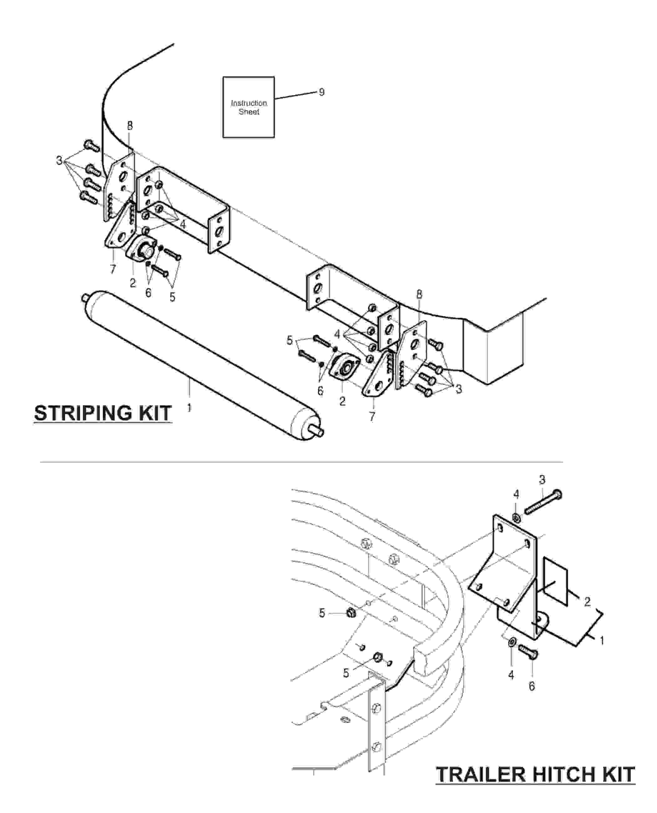 Parts Of A Trailer Hitch Diagram