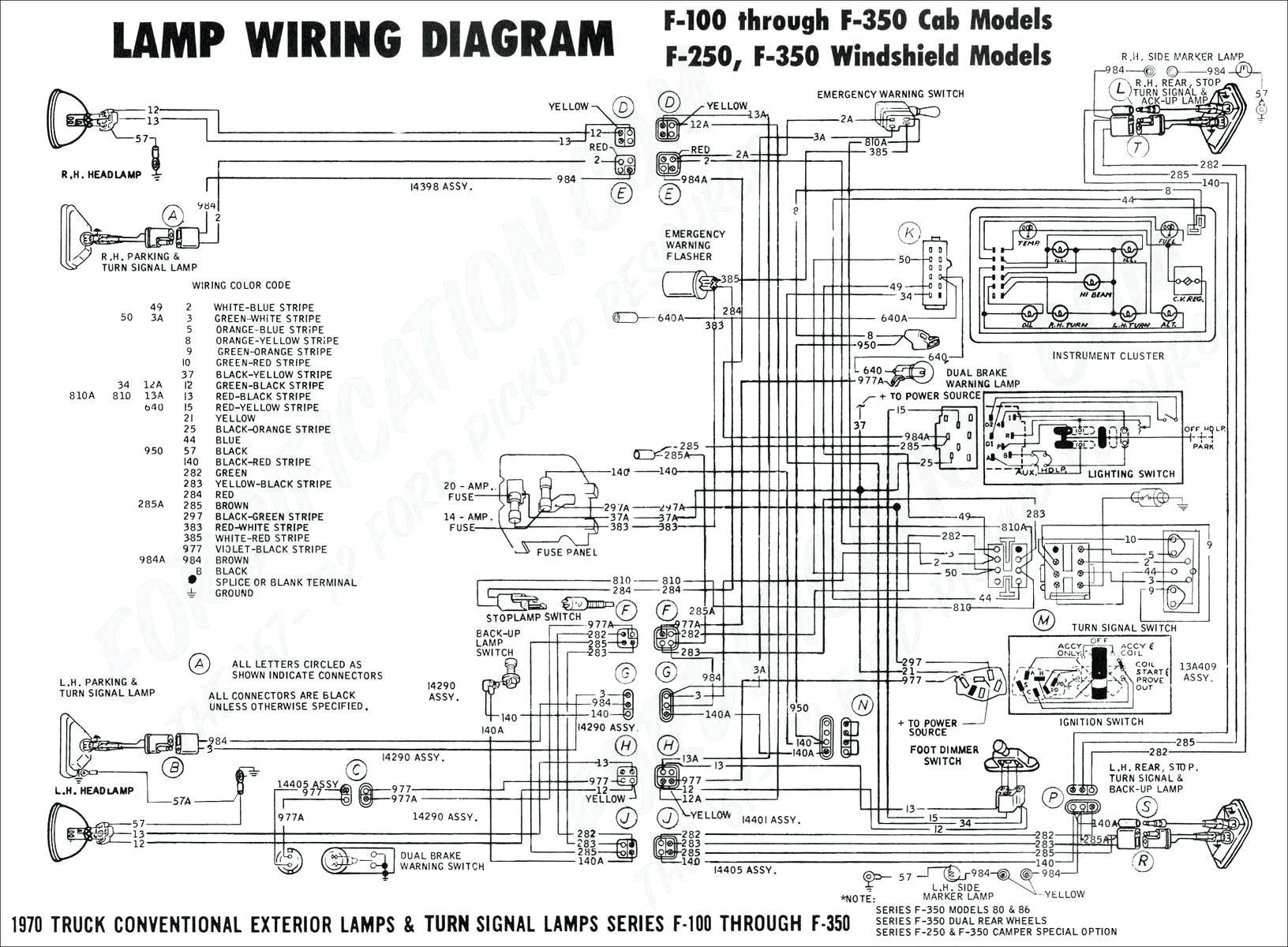 Ford E 450 Motorhome Radio Wire Diagram