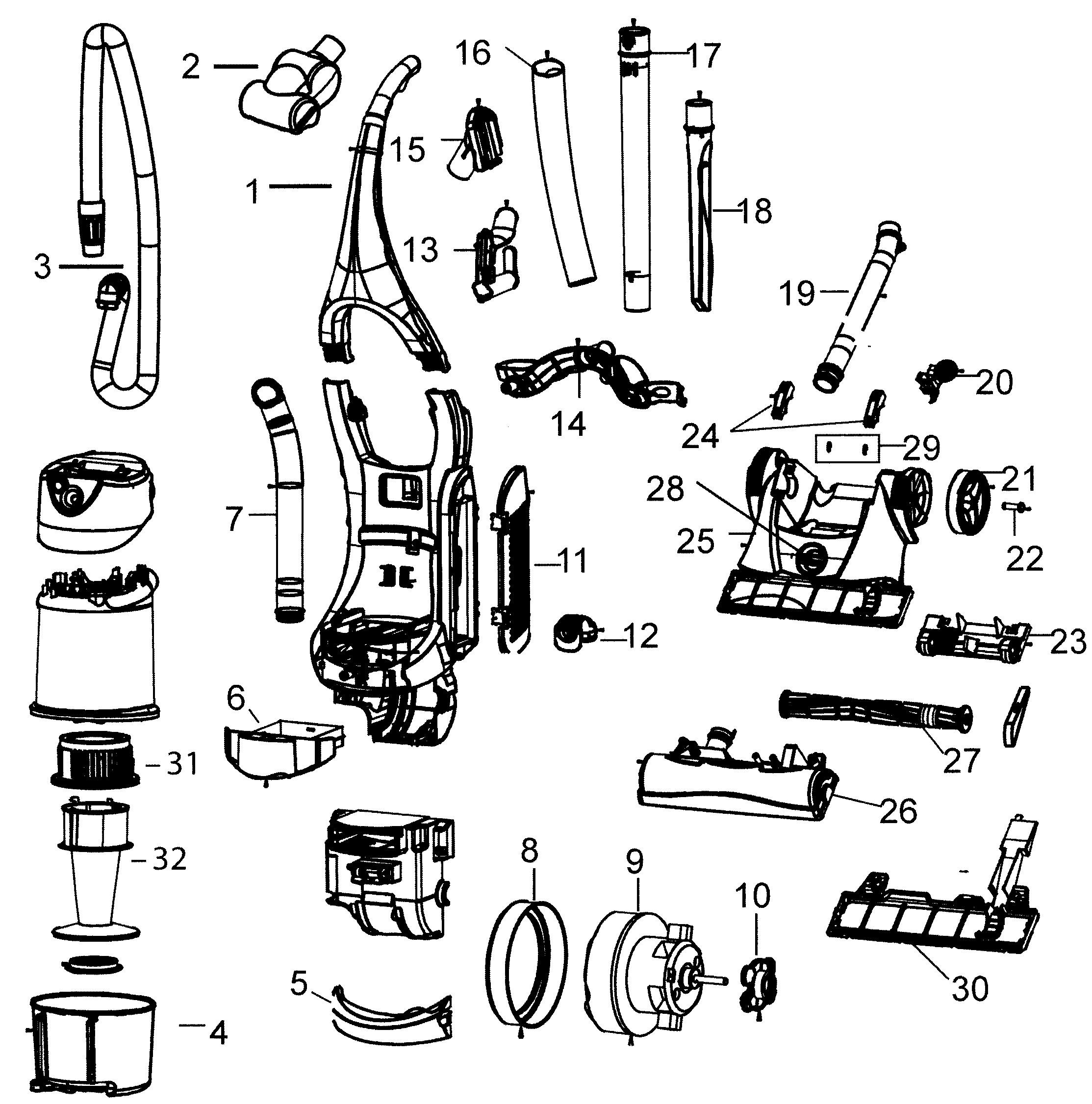Dyson Dc24 Parts Diagram