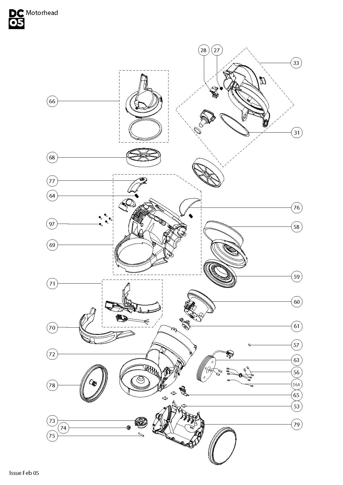 Dyson Dc40 Parts Diagram
