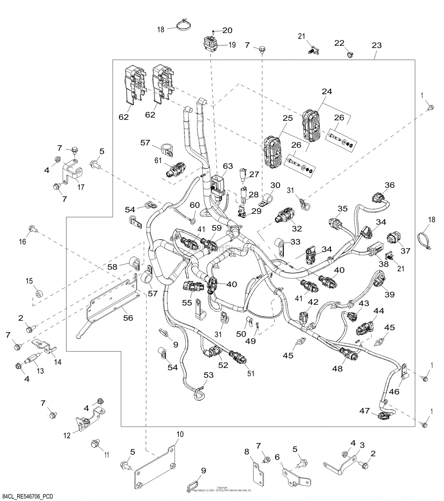 John Deere 2 Cylinder Engine Diagram John Deere Parts
