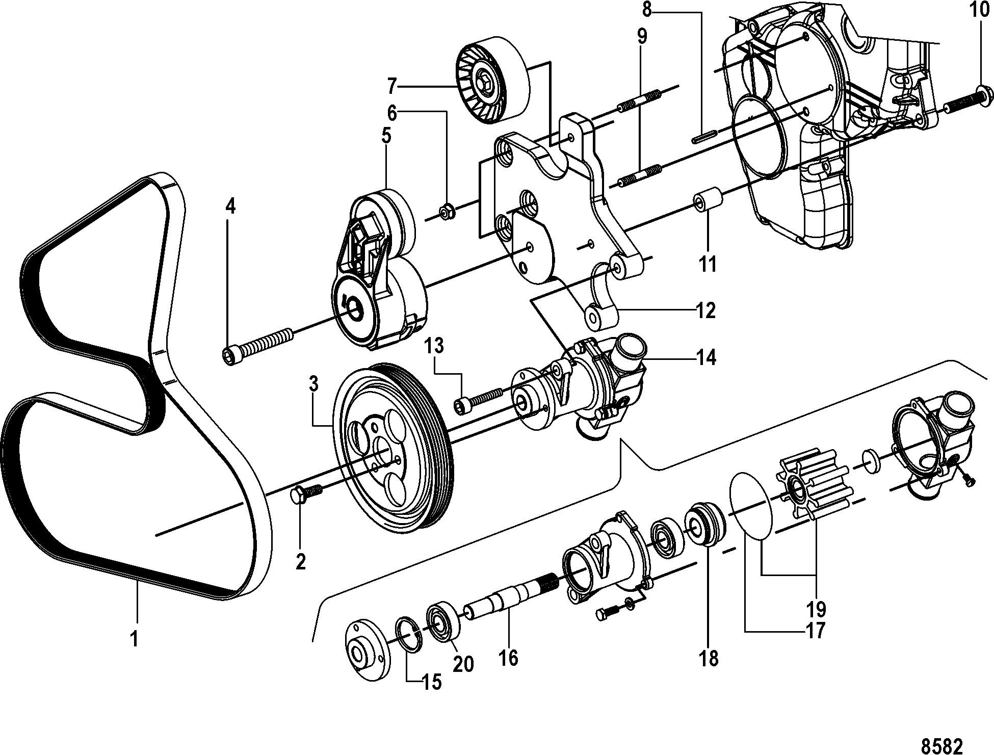 Mercruiser 170 Engine Diagram N N N N