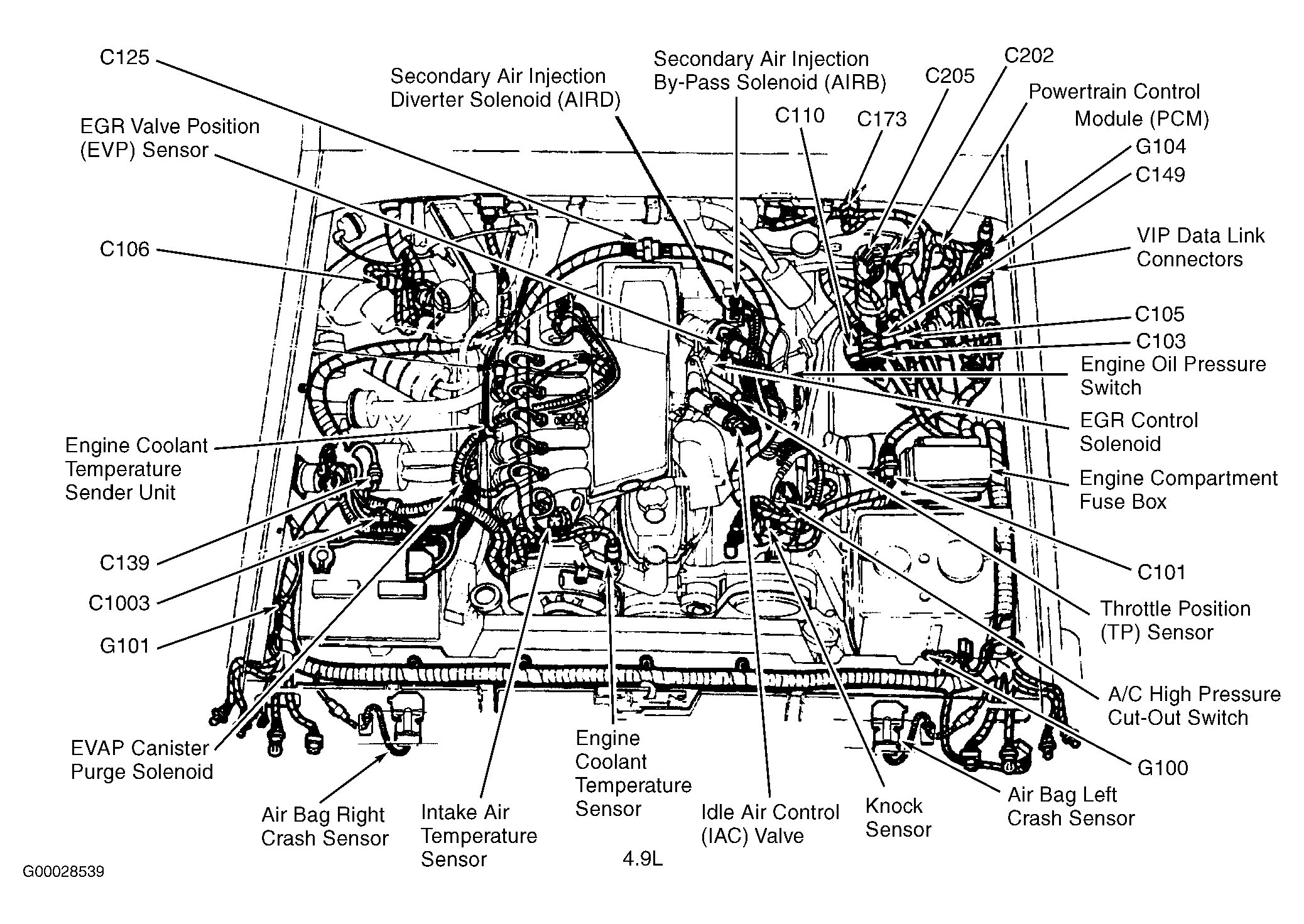 8b56c 04 F150 Engine Diagram