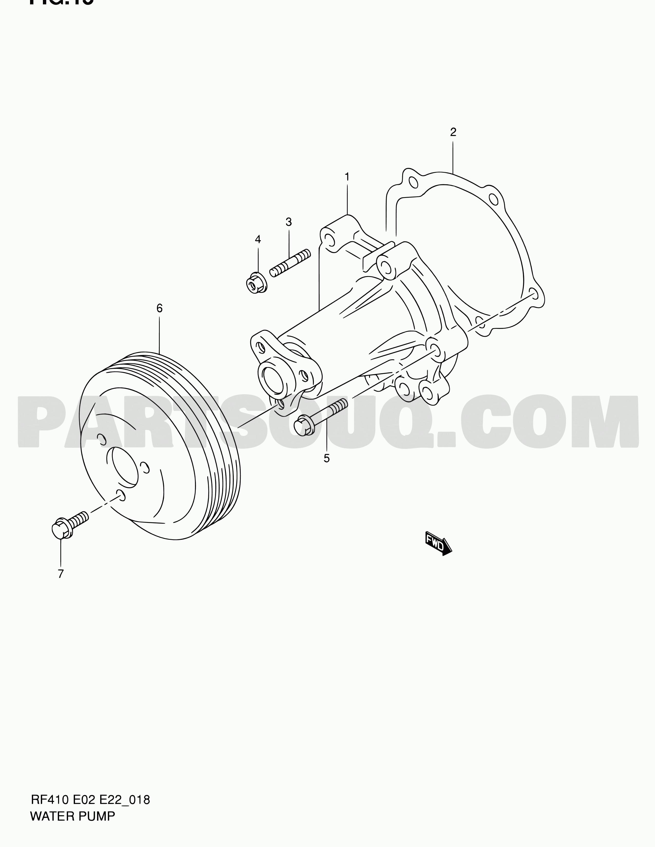 Maruti Suzuki 800 Engine Diagram