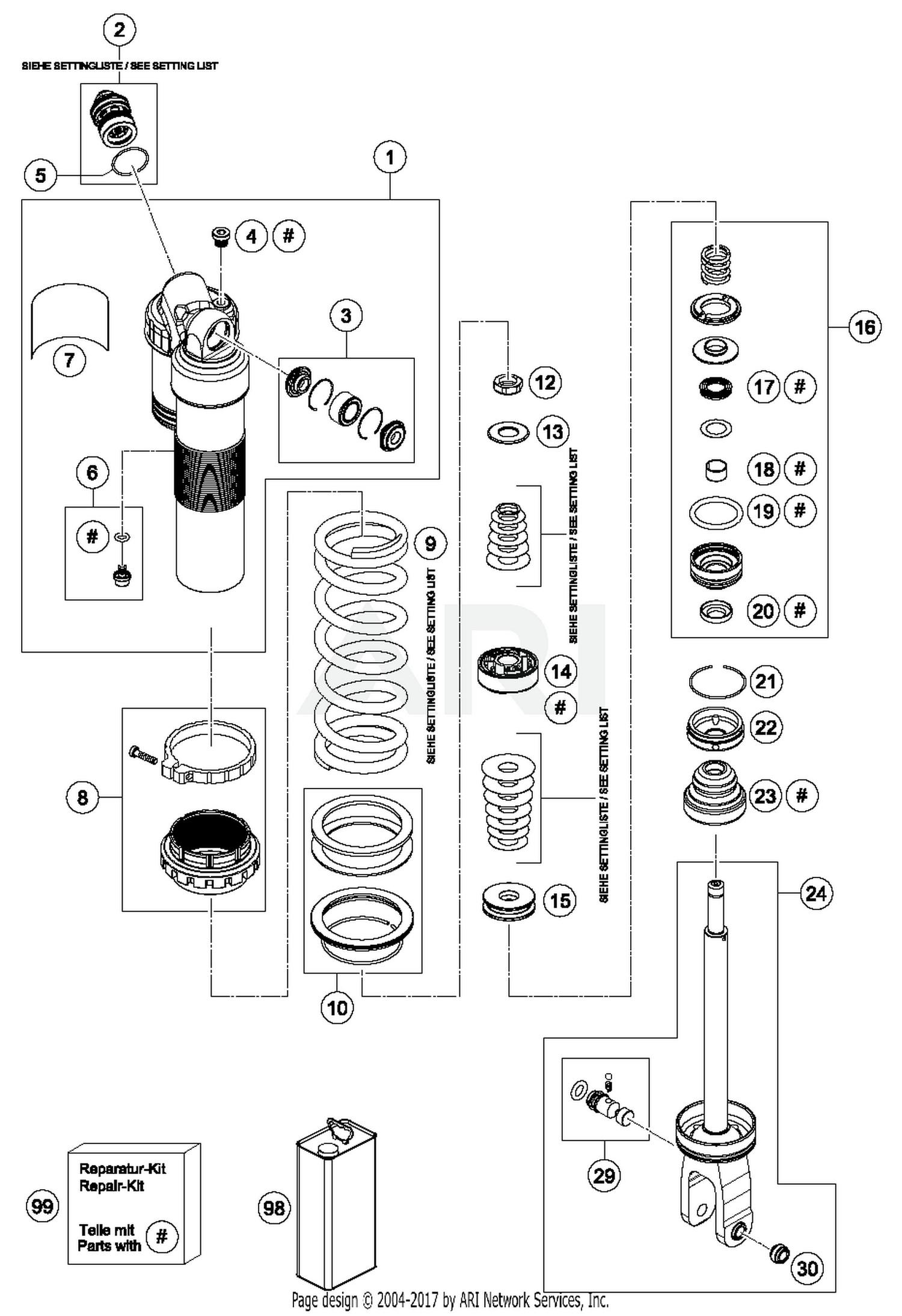 Shock Absorber Diagram
