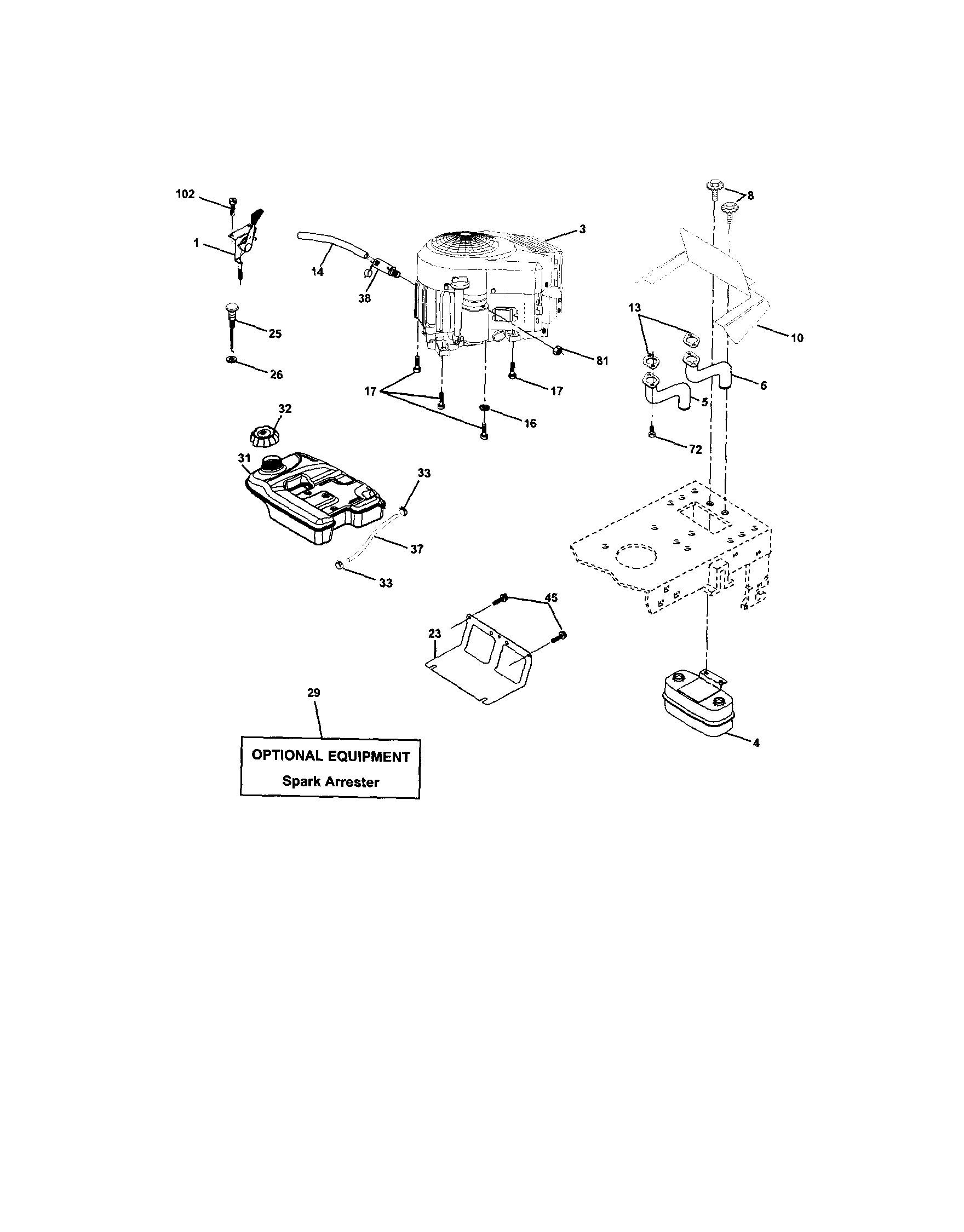 Lawn Mower Engine Parts Diagram Gravely Zt Hd 60 Parts