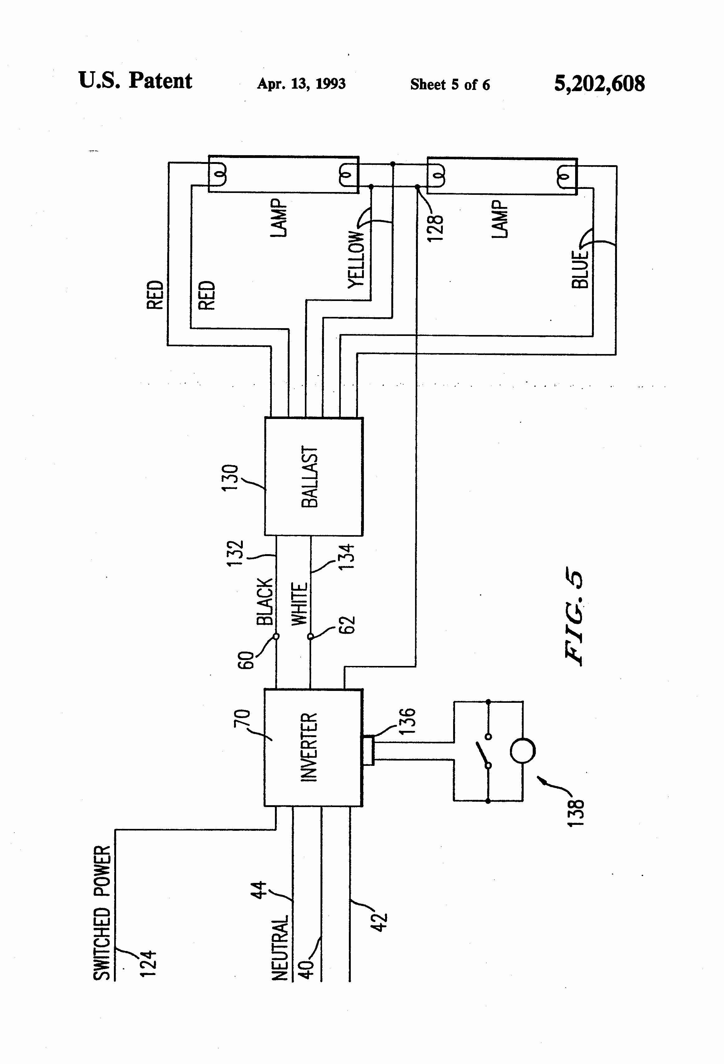 Electronic Choke Wiring Diagram