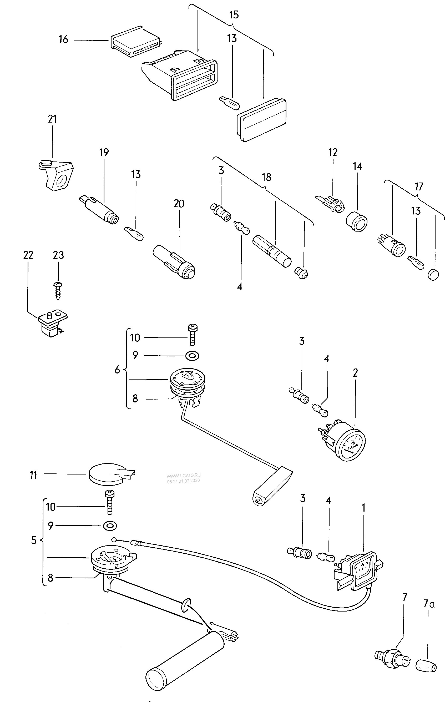 Oil Pressure Gauge Connection Diagram