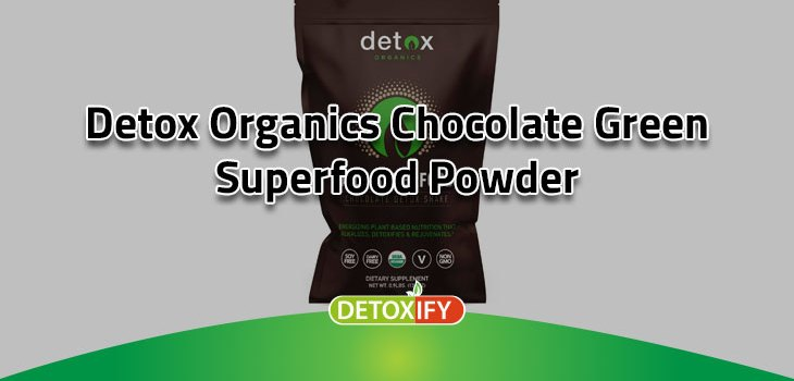 Chocolate Green Superfood Powder