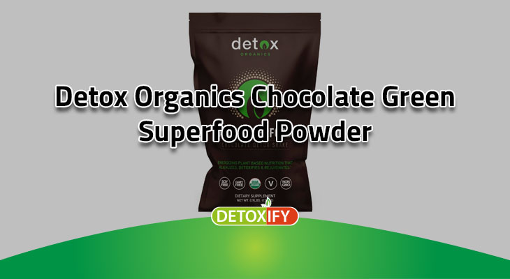 Chocolate Green Superfood Powder