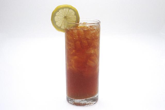 Peachy Iced Green Tea Recipe