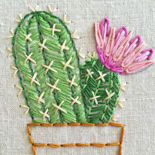 Instant Embroidering with Jenny Hart