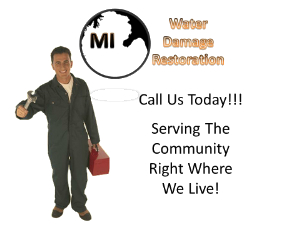 Detroit MI Water Damage Restoration and Mold Remediation Service