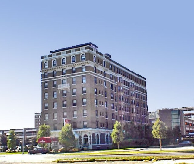 Hotel Stevenson Milner Arms Apartments  Davenport Near Orchestra Hall In Detroit