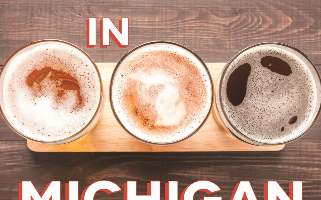 Win a FREE Copy of 'Brewed in Michigan: The New Golden Age of Brewing in the Great Beer State'!